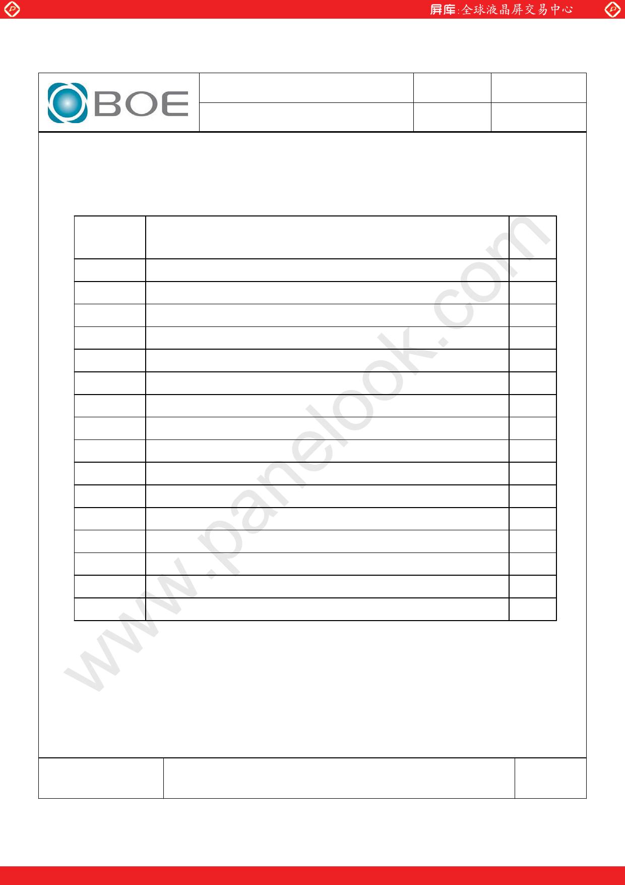 HV150UX1-102 pdf, ピン配列
