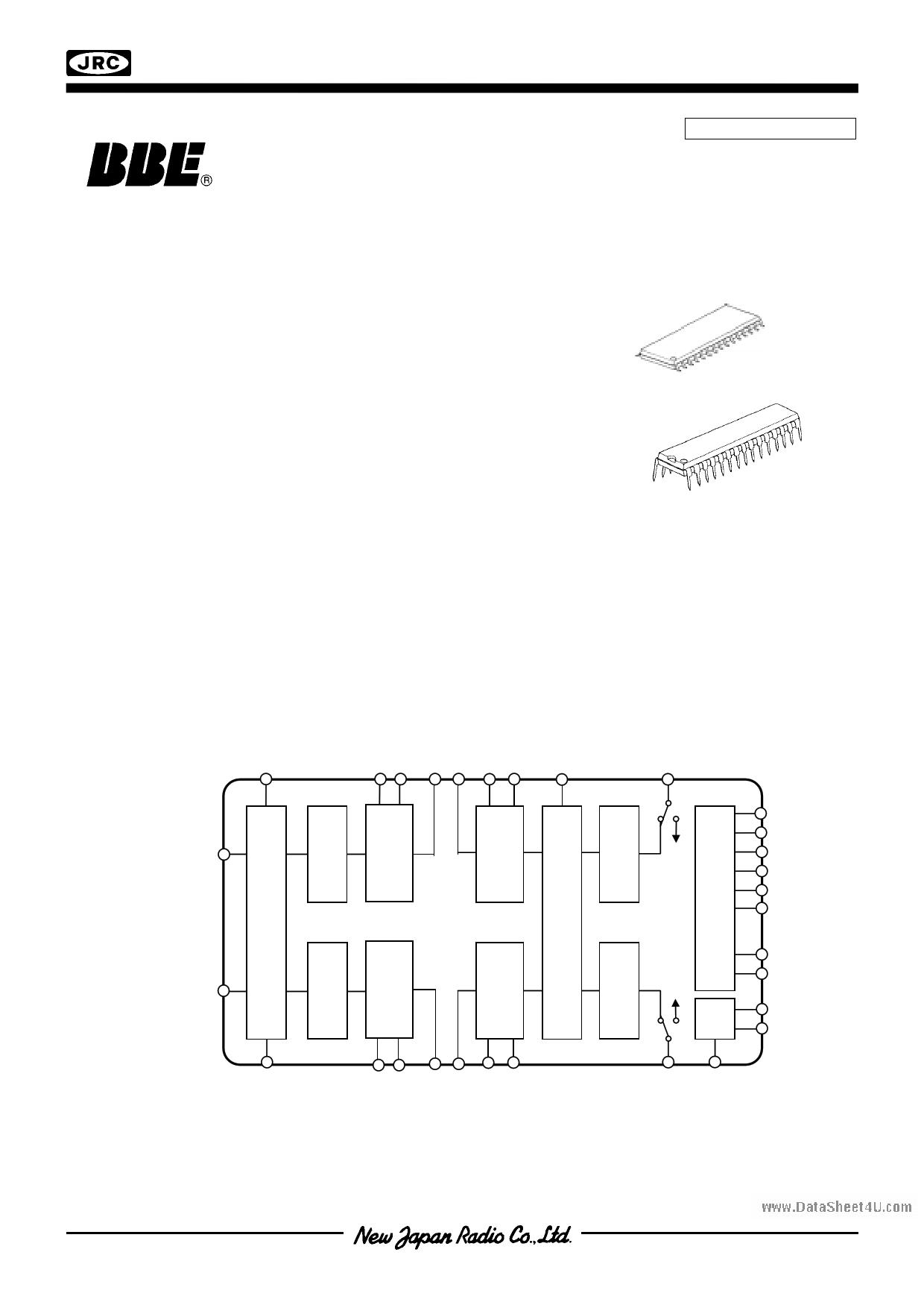 NJW1132 دیتاشیت PDF