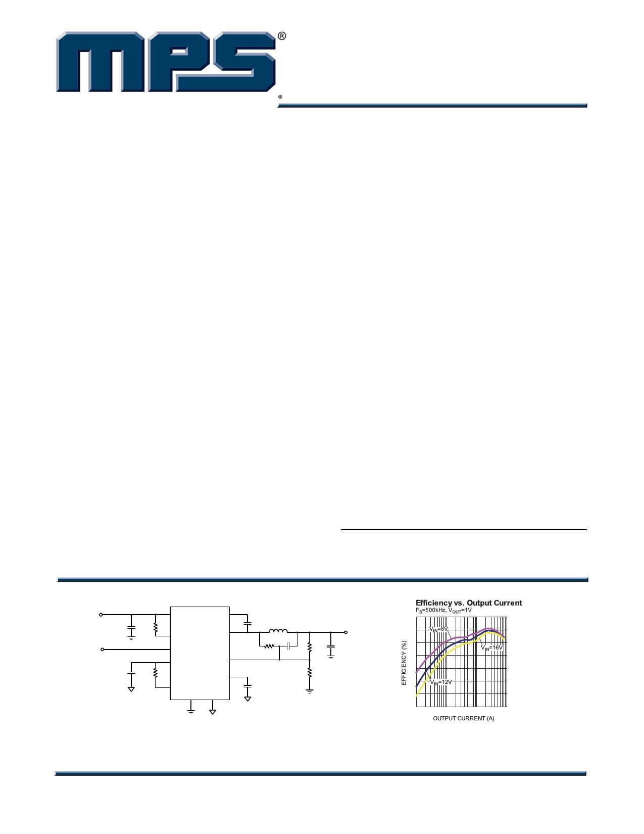 MP8761 datasheet