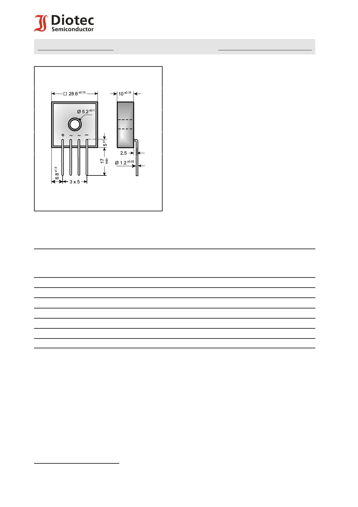 KBPC3502I دیتاشیت PDF