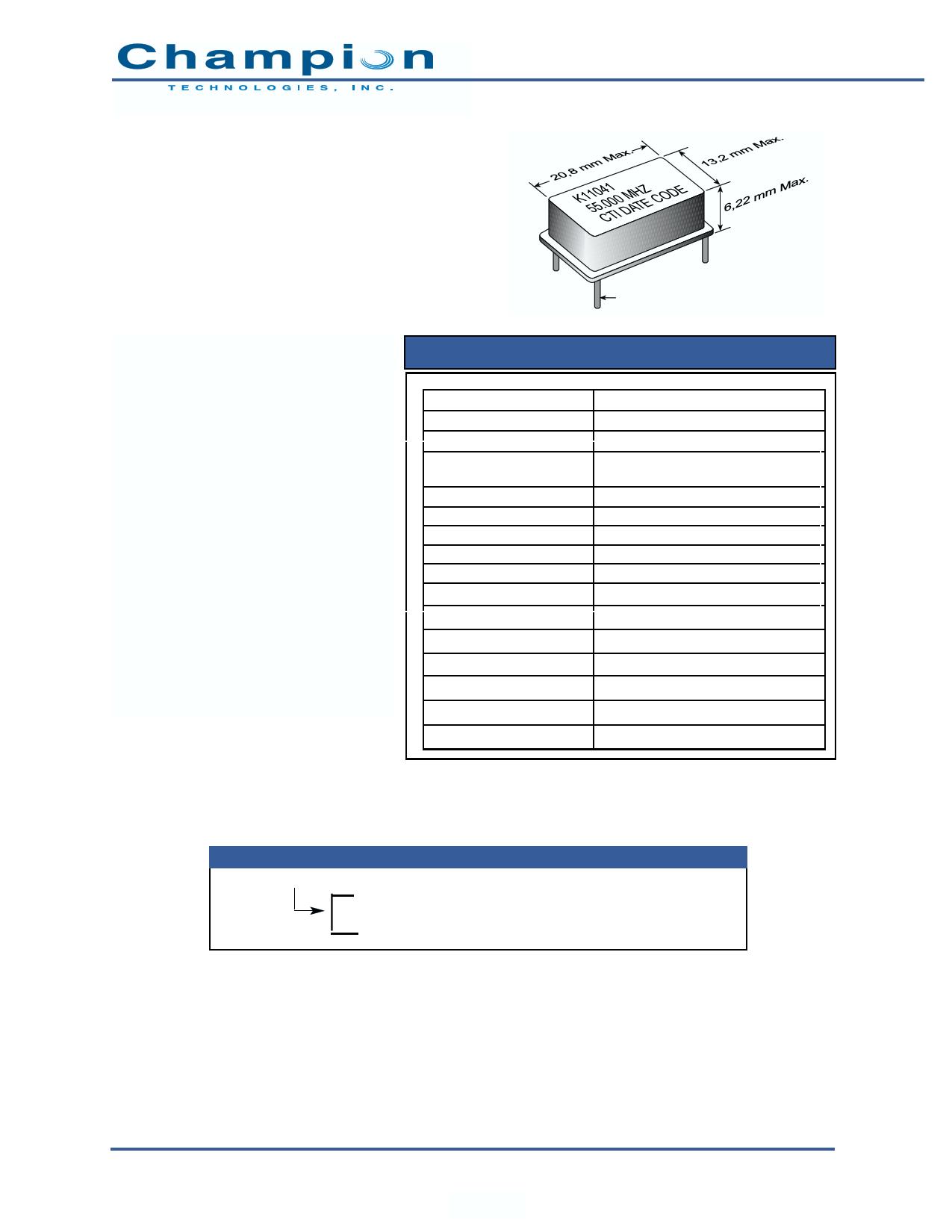 K11041 دیتاشیت PDF