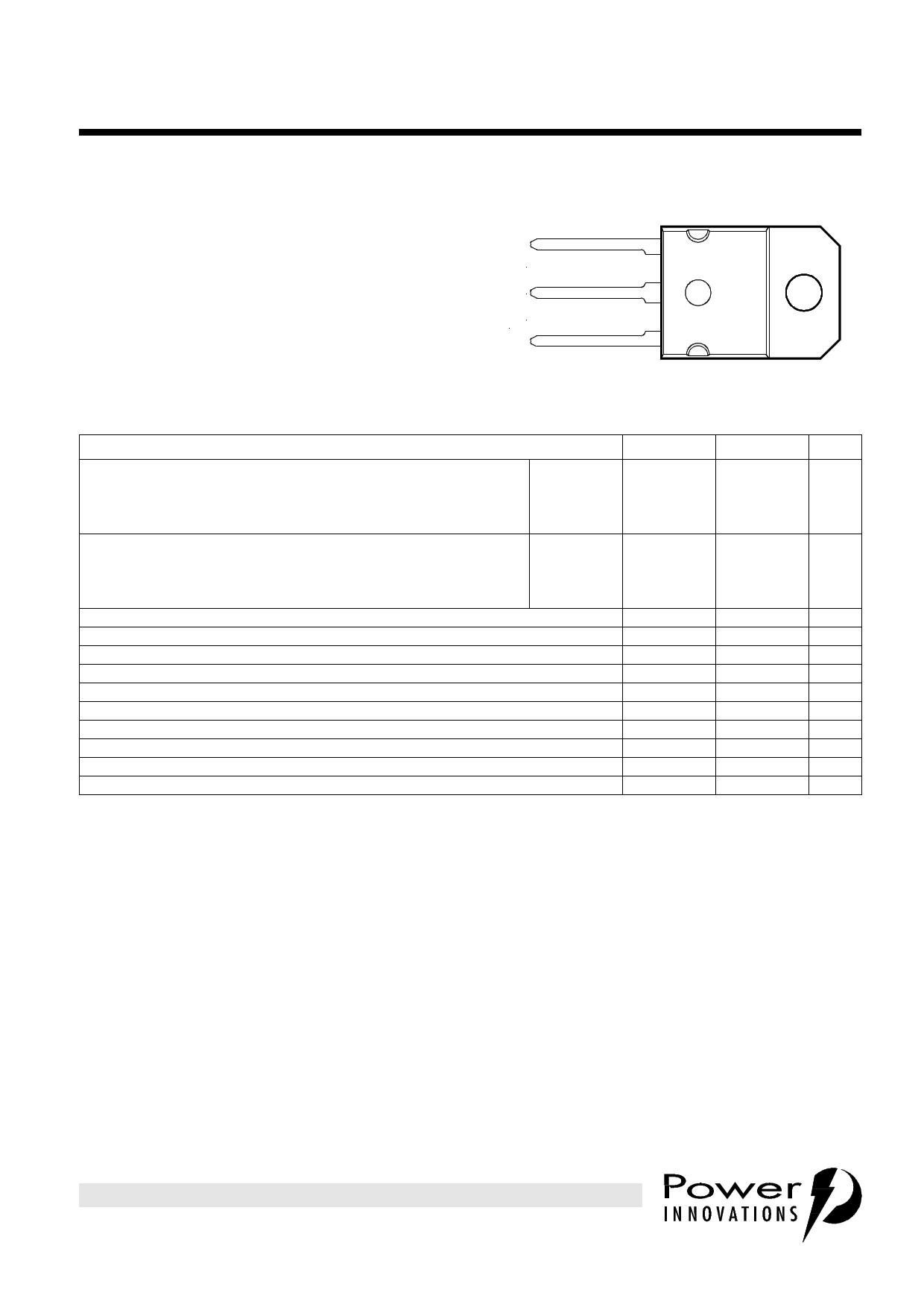BD250 datasheet
