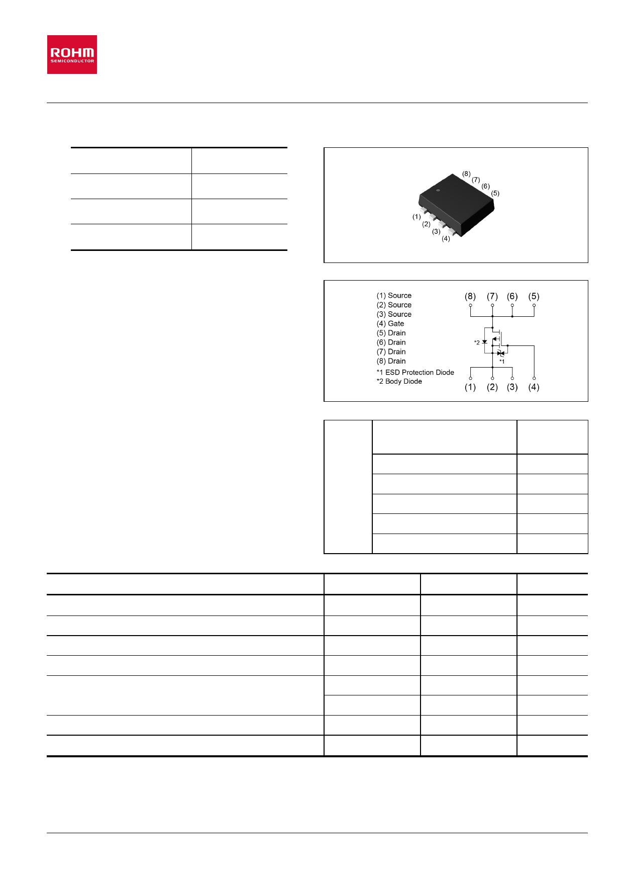 RQ1A060ZP Datenblatt PDF