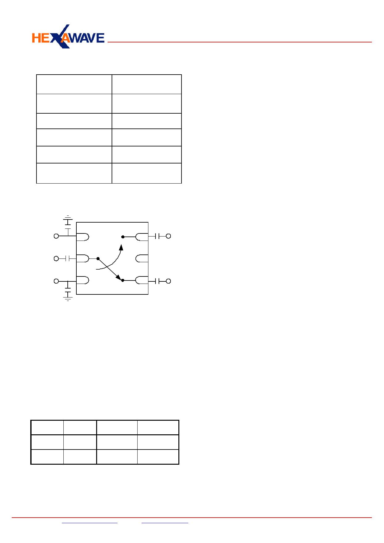 HWS506 pdf, ピン配列