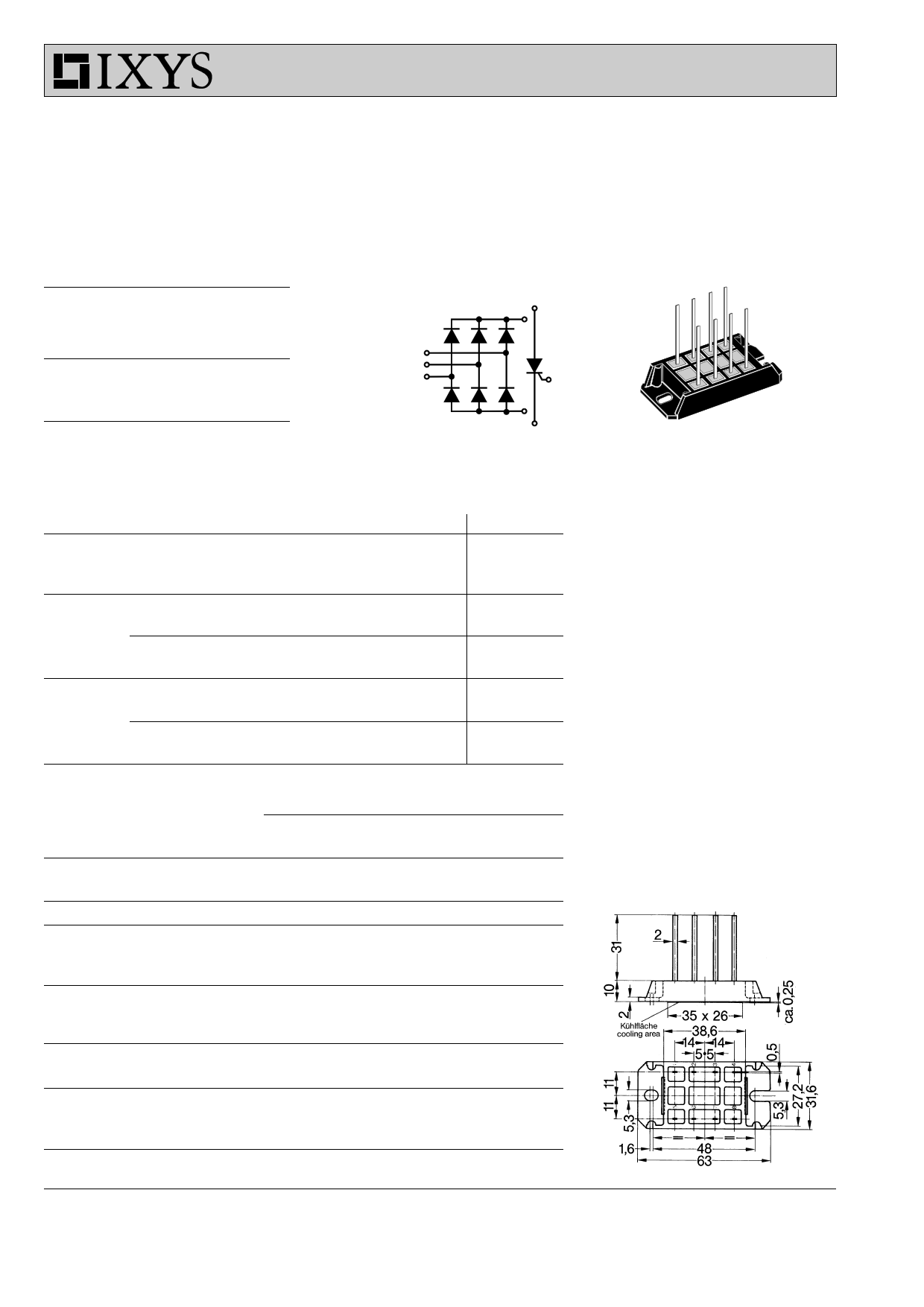 VUC36-14go2 datasheet
