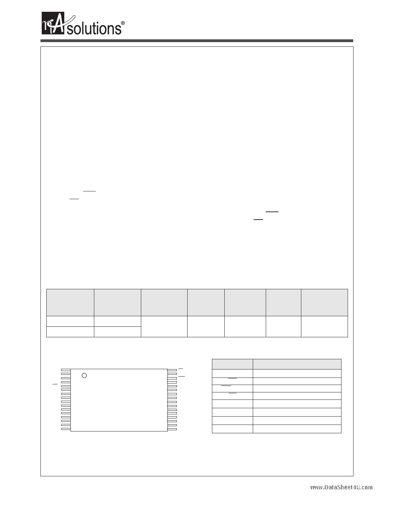 N01M0818L1A دیتاشیت PDF