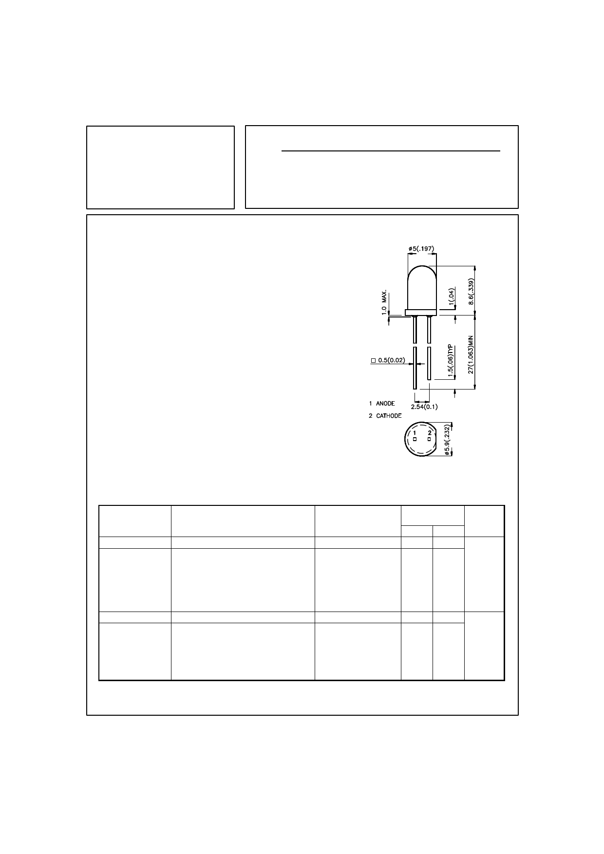 L-53SRD-B دیتاشیت PDF