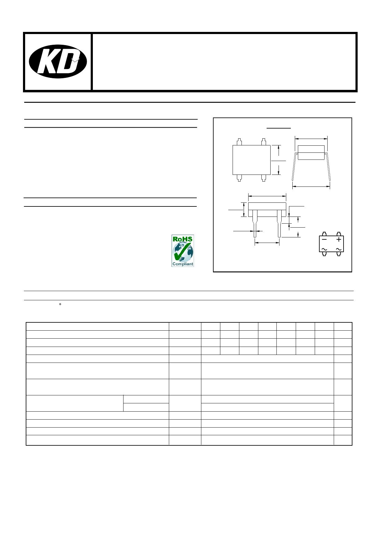 DF1504 даташит PDF