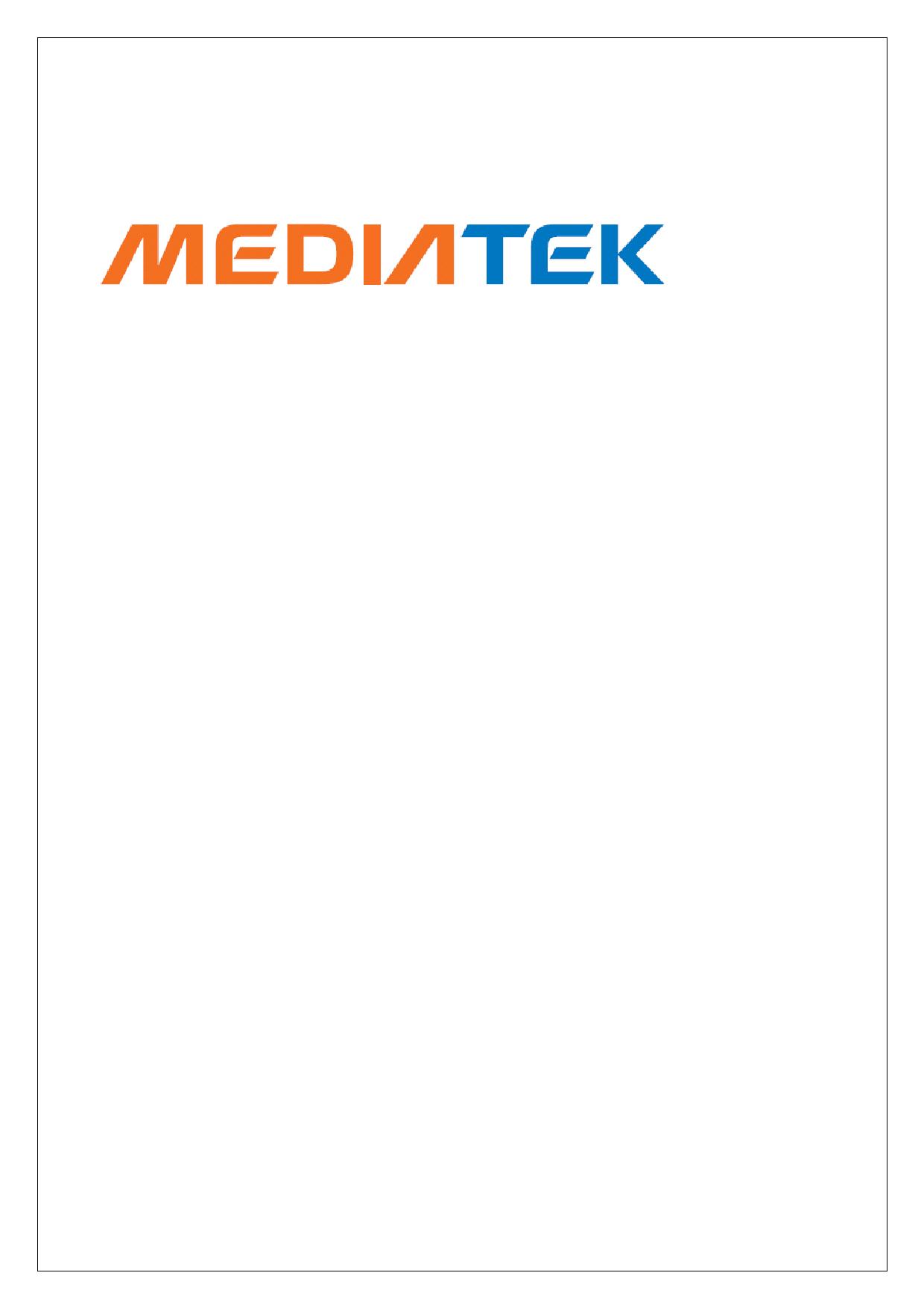 MT6573 datasheet, circuit