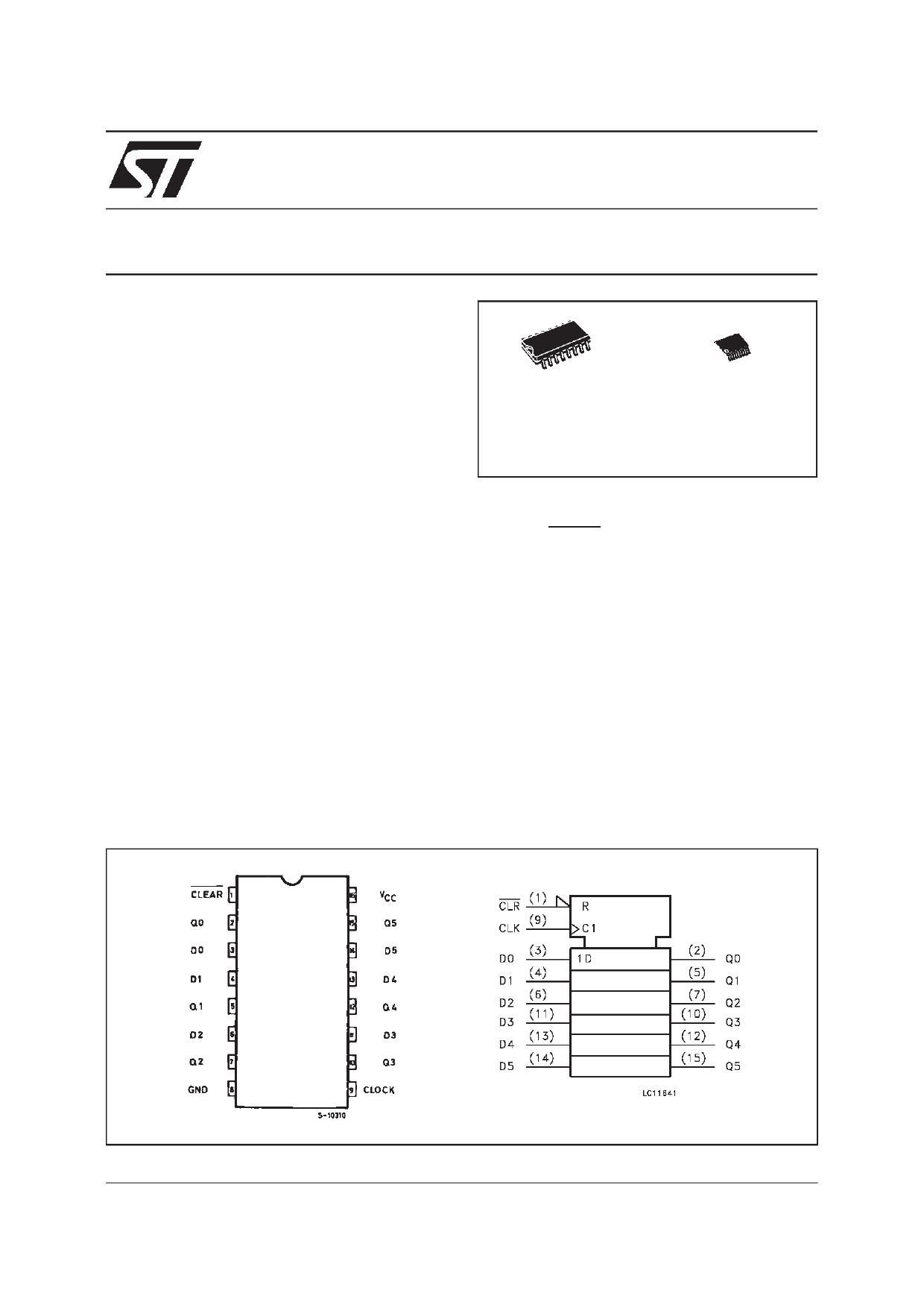 74VHC174 دیتاشیت PDF