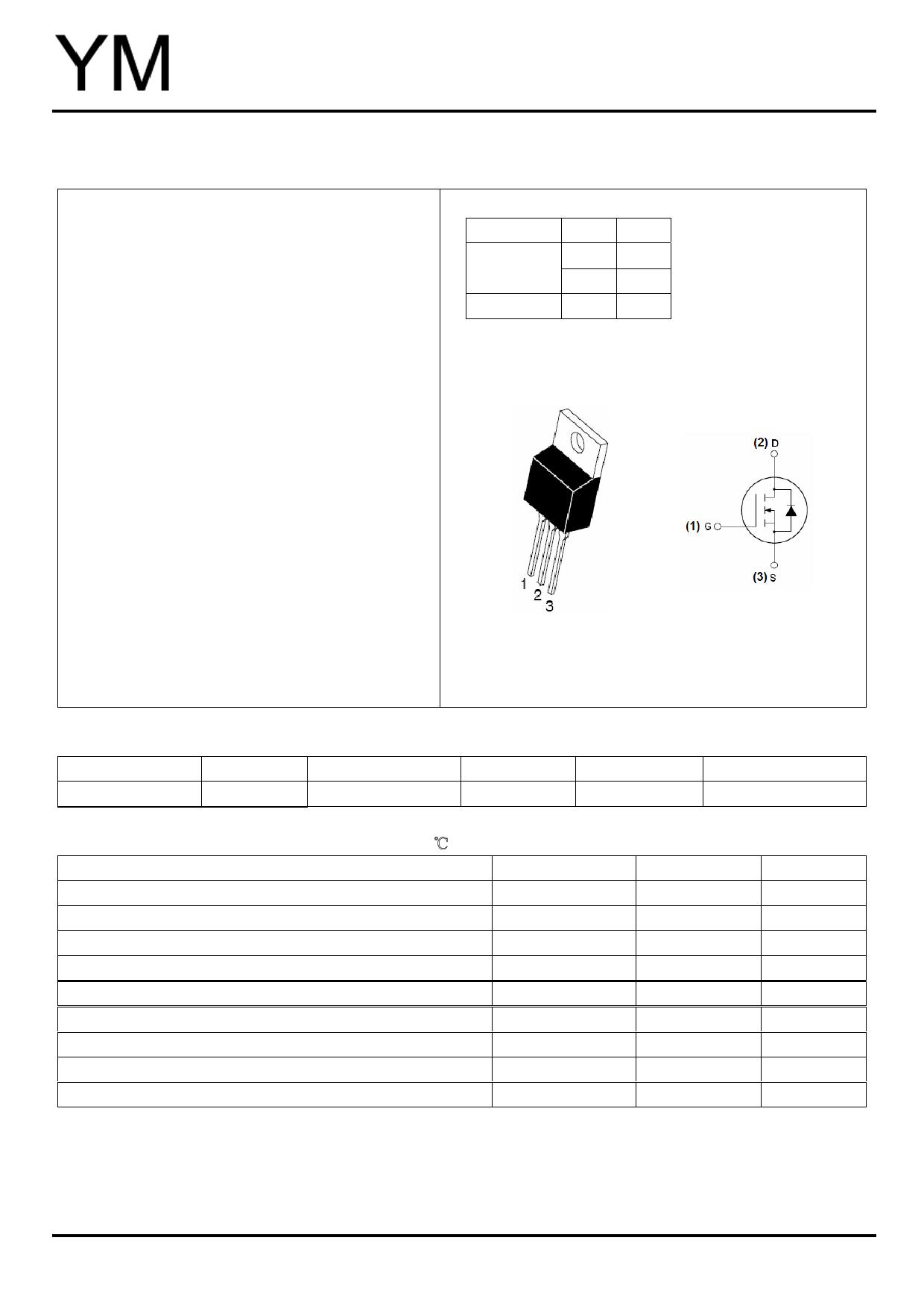 YMP120N06 datasheet
