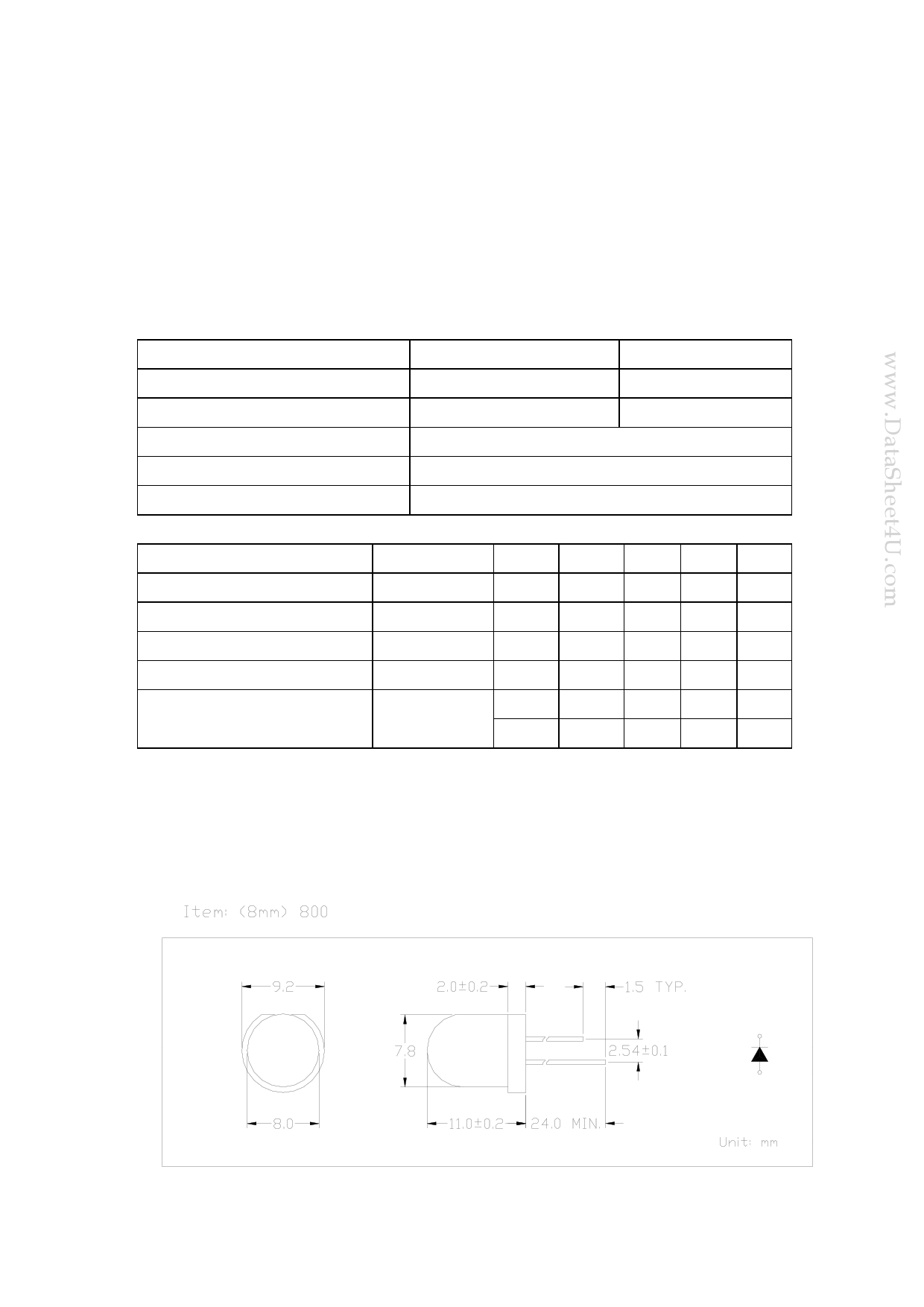 800TB1D دیتاشیت PDF