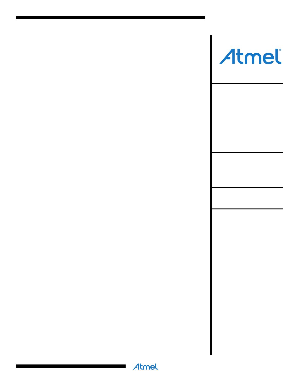 ATMEGA8 Datasheet - 8-bit Microcontroller - DataSheetCafe.com