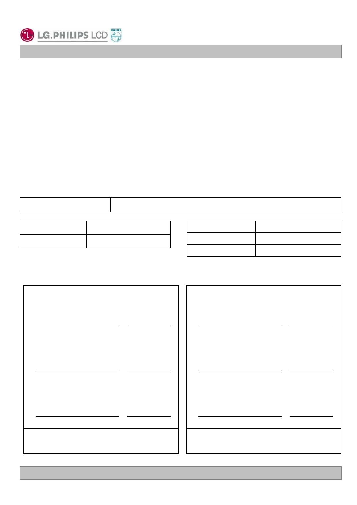 LC320W01-A4 datasheet