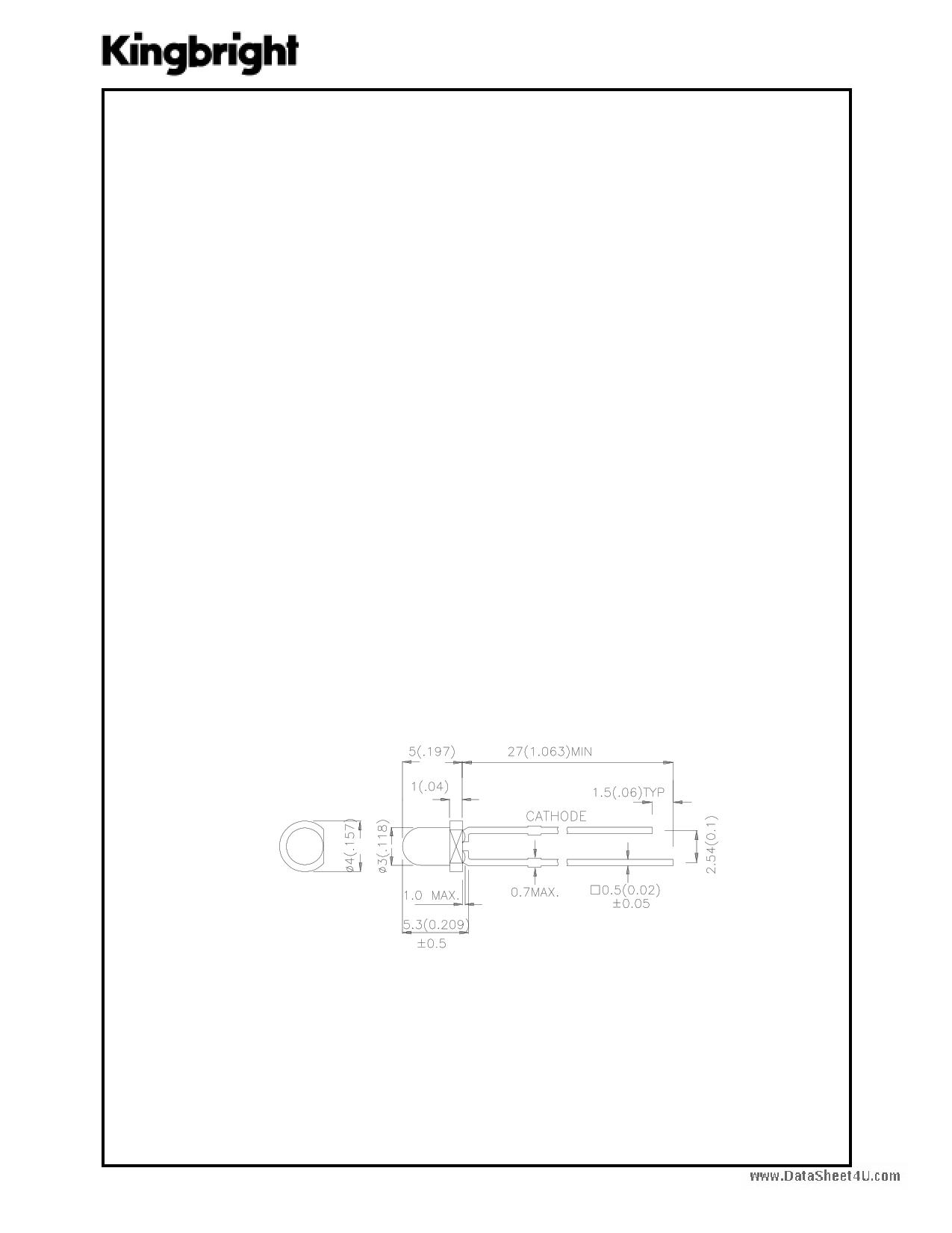 L-1154PGx Hoja de datos, Descripción, Manual