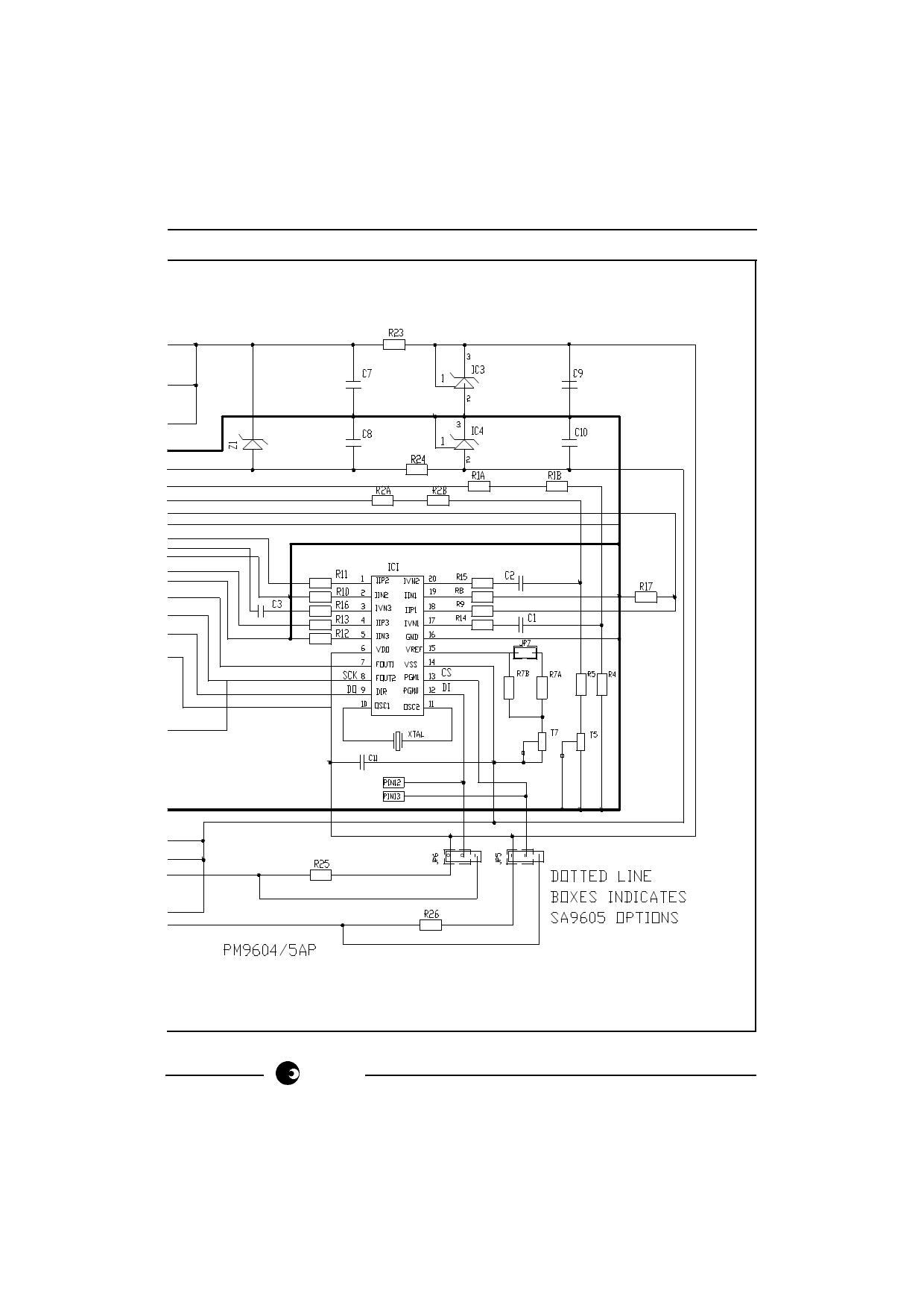 PM9604AP diode, scr