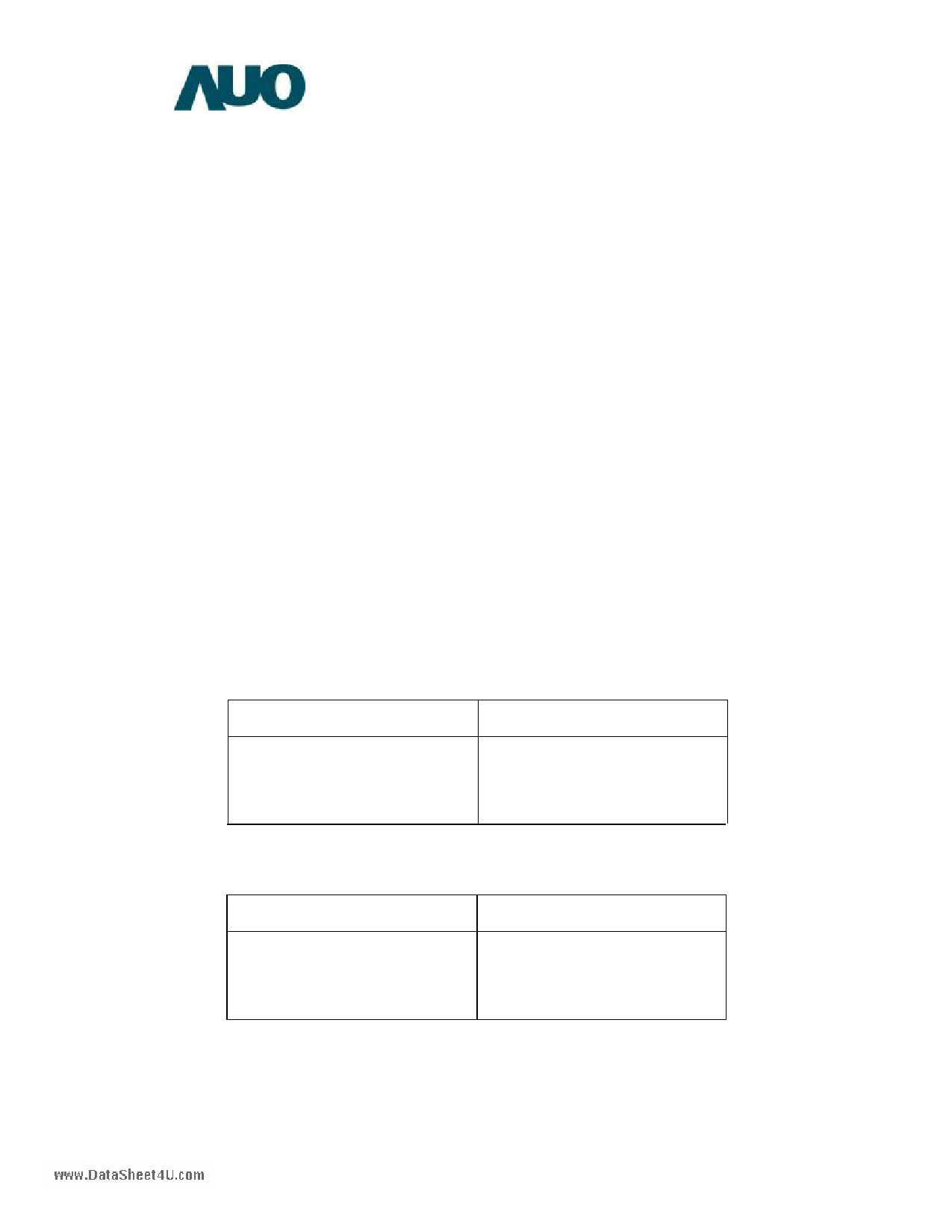 G084SN05-V4 دیتاشیت PDF