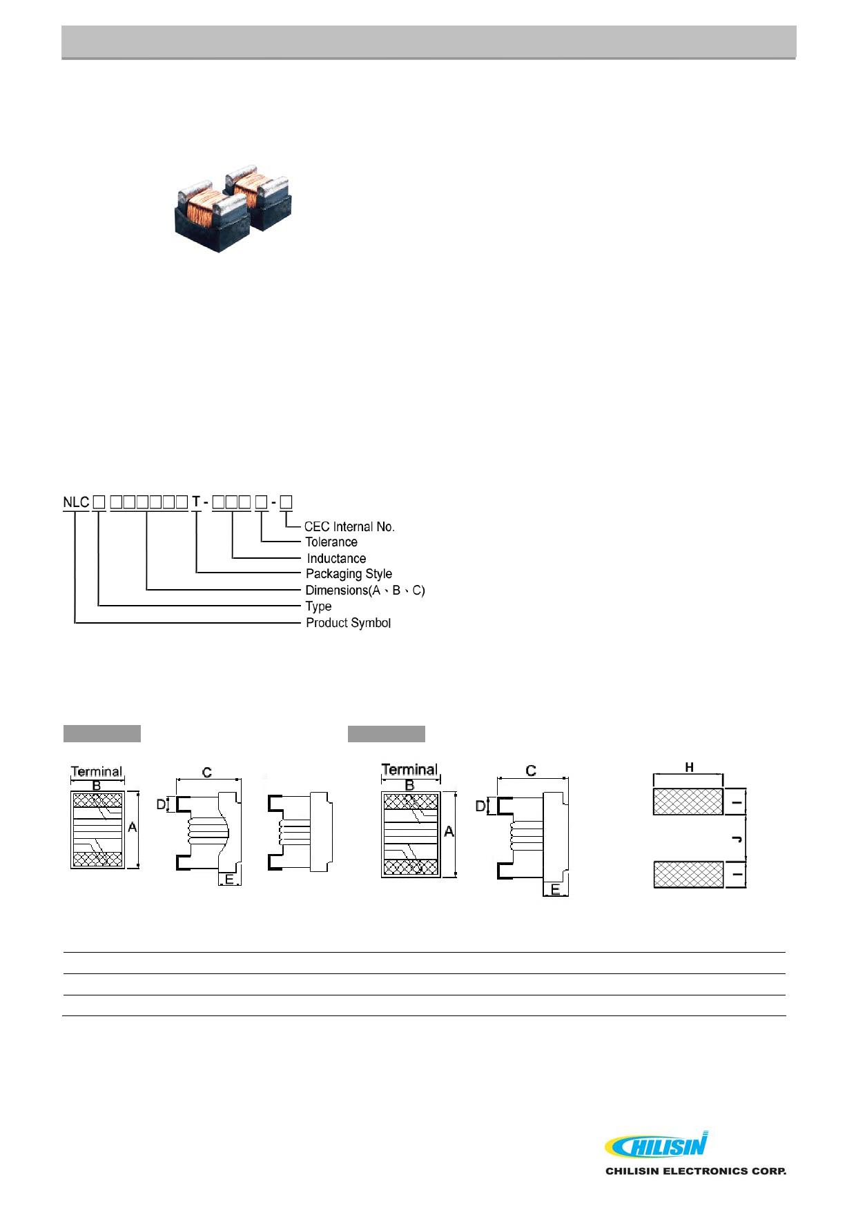NLC252018T 데이터시트 및 NLC252018T PDF