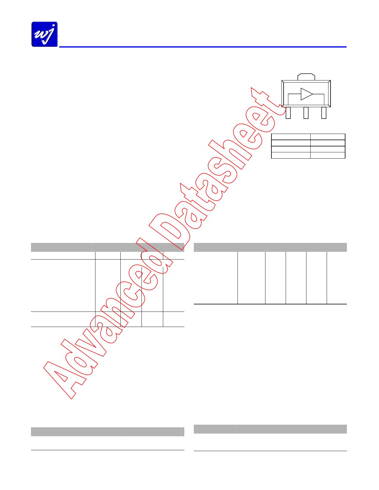 WJA1005 دیتاشیت PDF