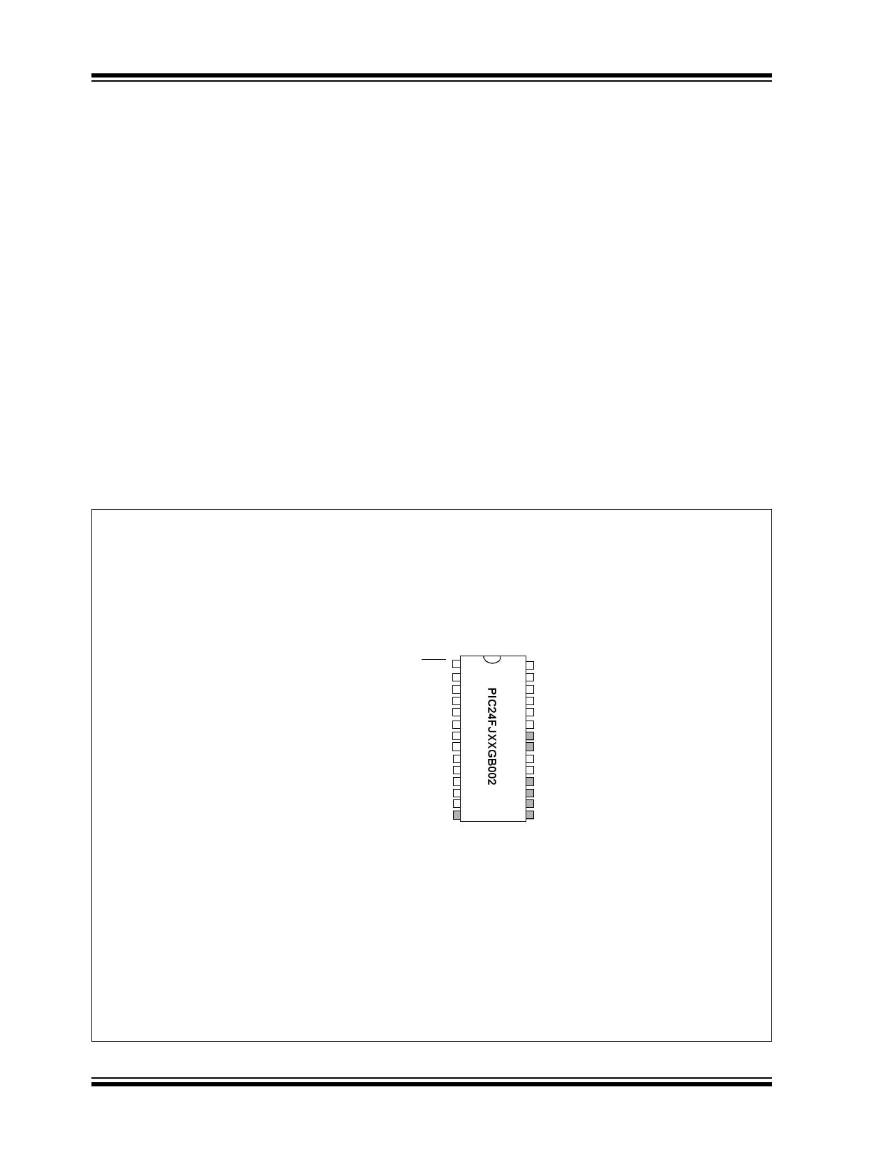 PIC24FJ32GB002 pdf, 반도체, 판매, 대치품