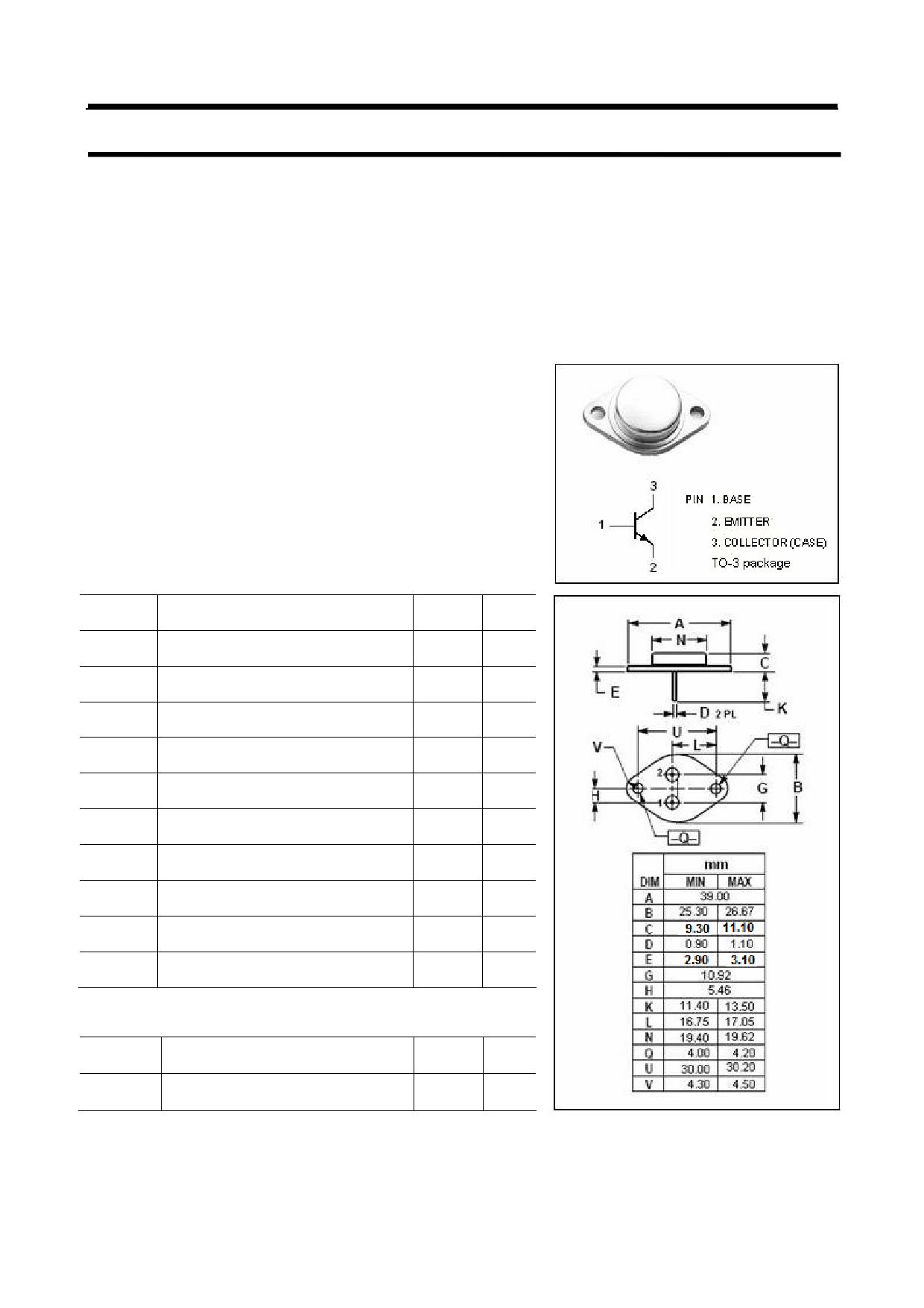 MJ8504 دیتاشیت PDF
