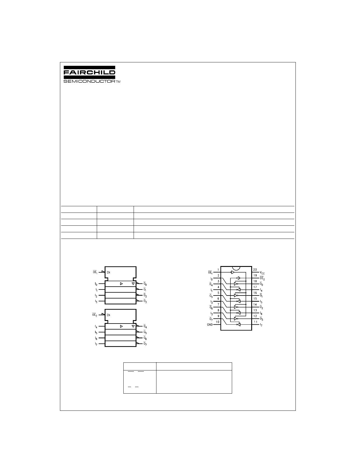 74VHC240 دیتاشیت PDF