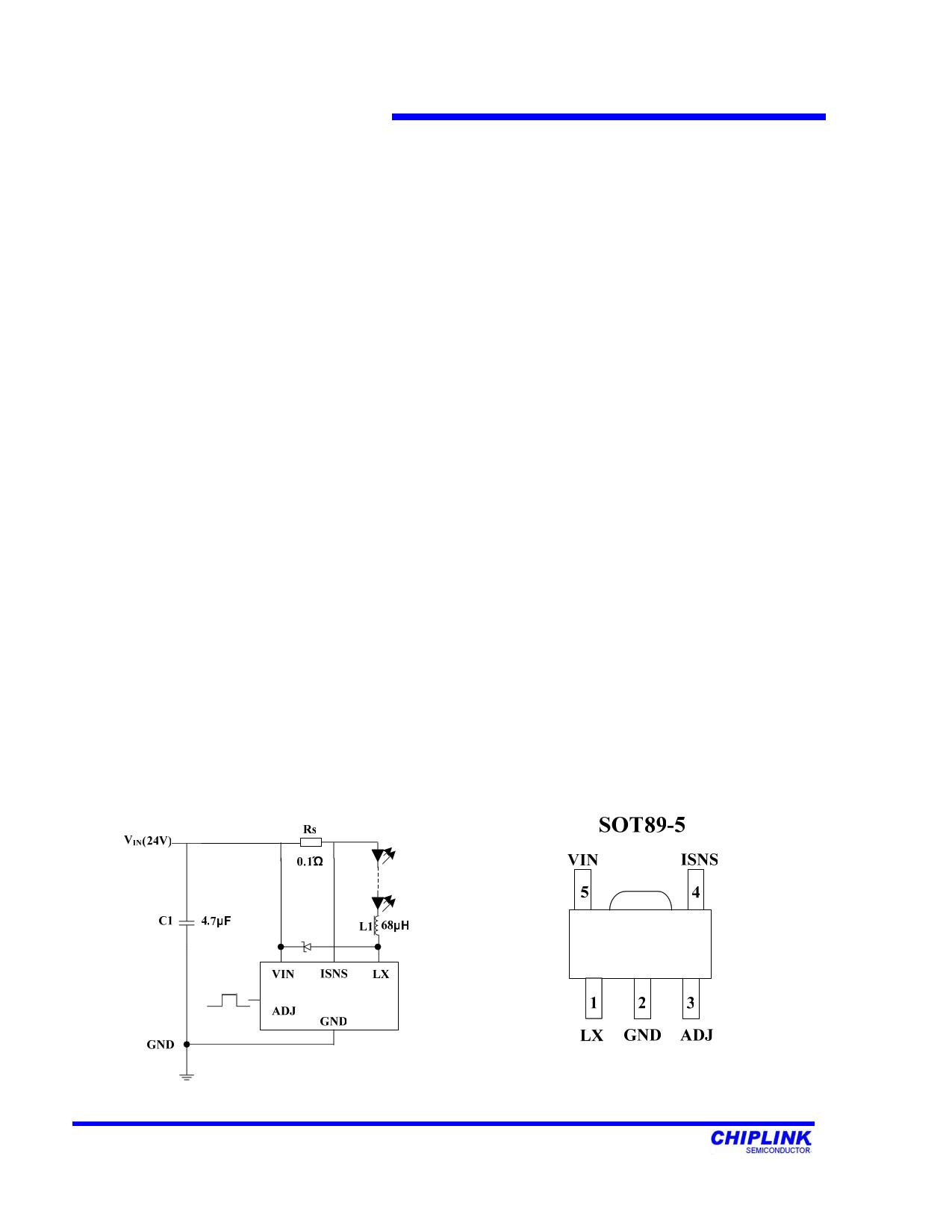 CL6808 datasheet pinout