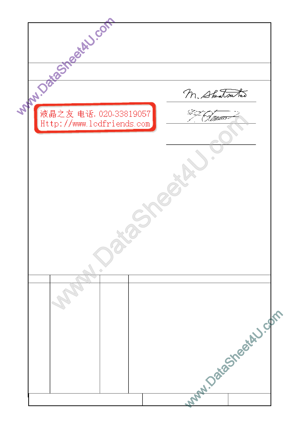 F-51852GNFQJ-LY-ADN Hoja de datos, Descripción, Manual