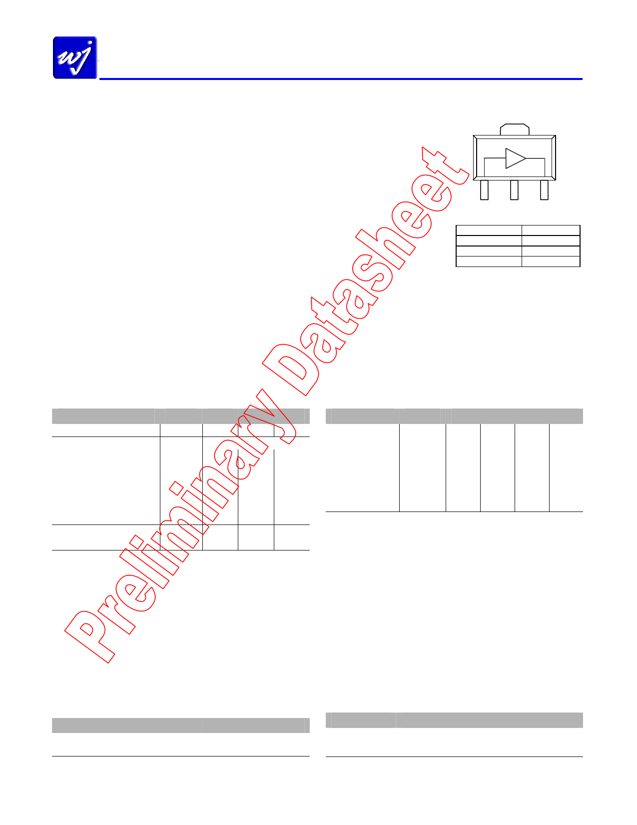 WJA1515 دیتاشیت PDF