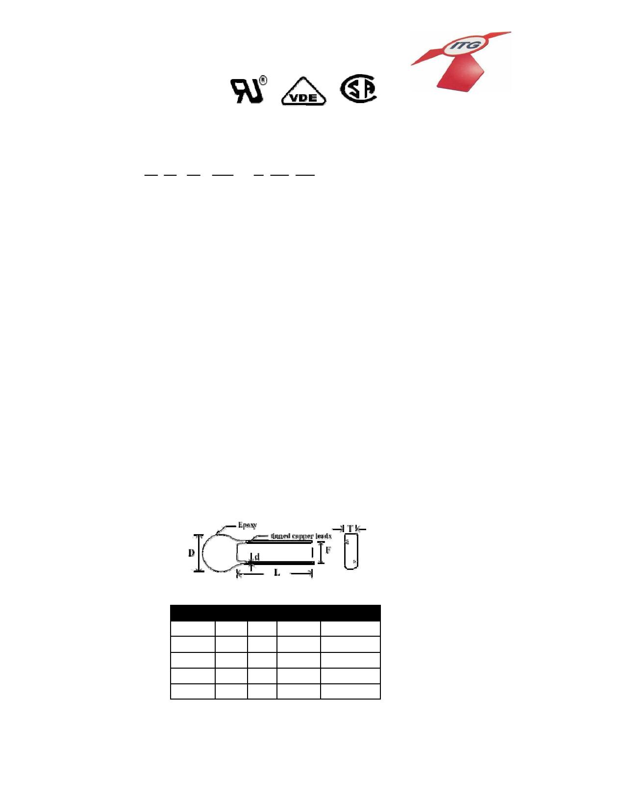 V05K230-5 datasheet