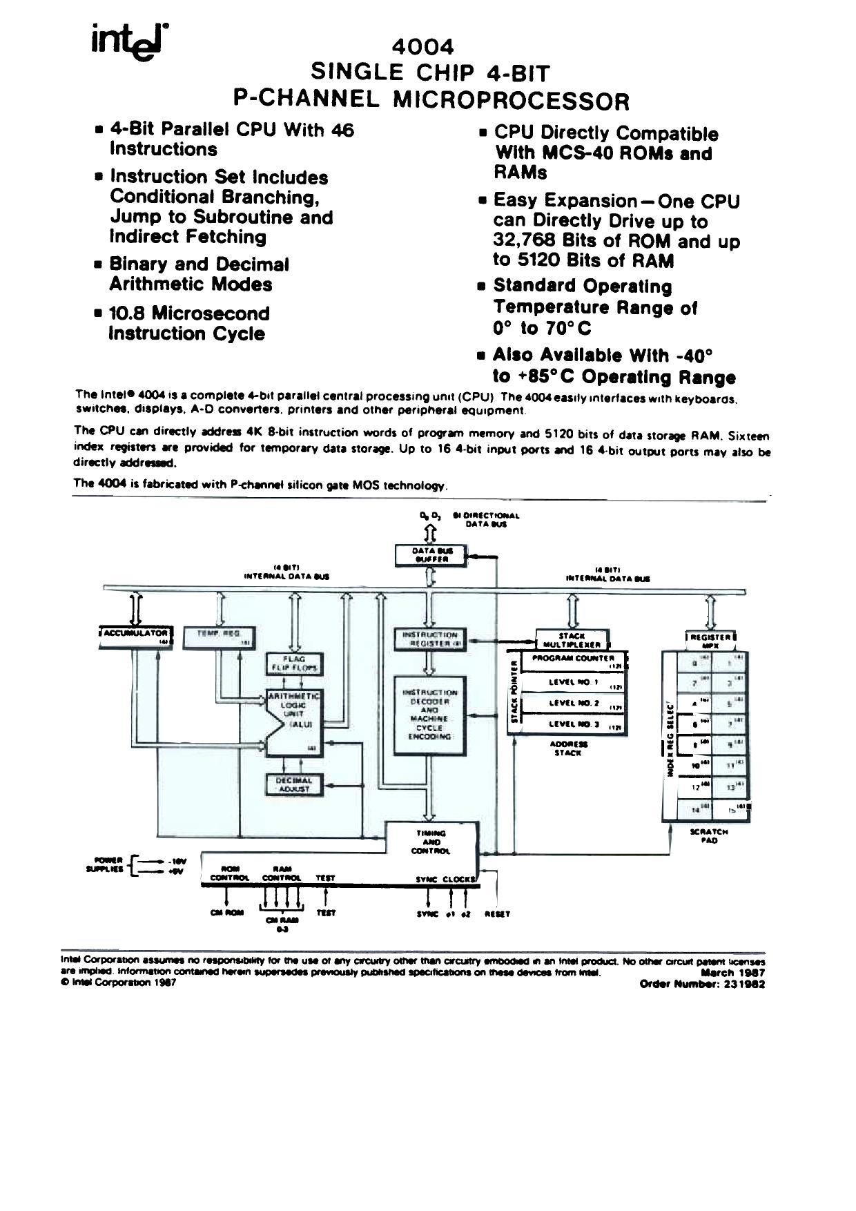 4004 دیتاشیت PDF