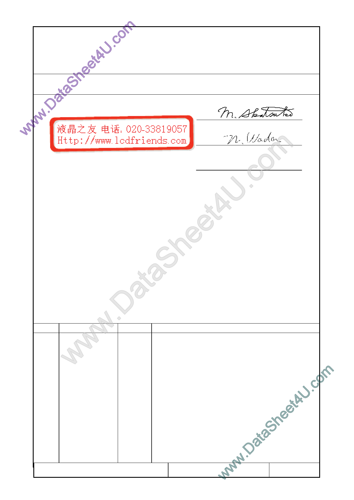 F-51852GNFQJ-LG-ACN Hoja de datos, Descripción, Manual