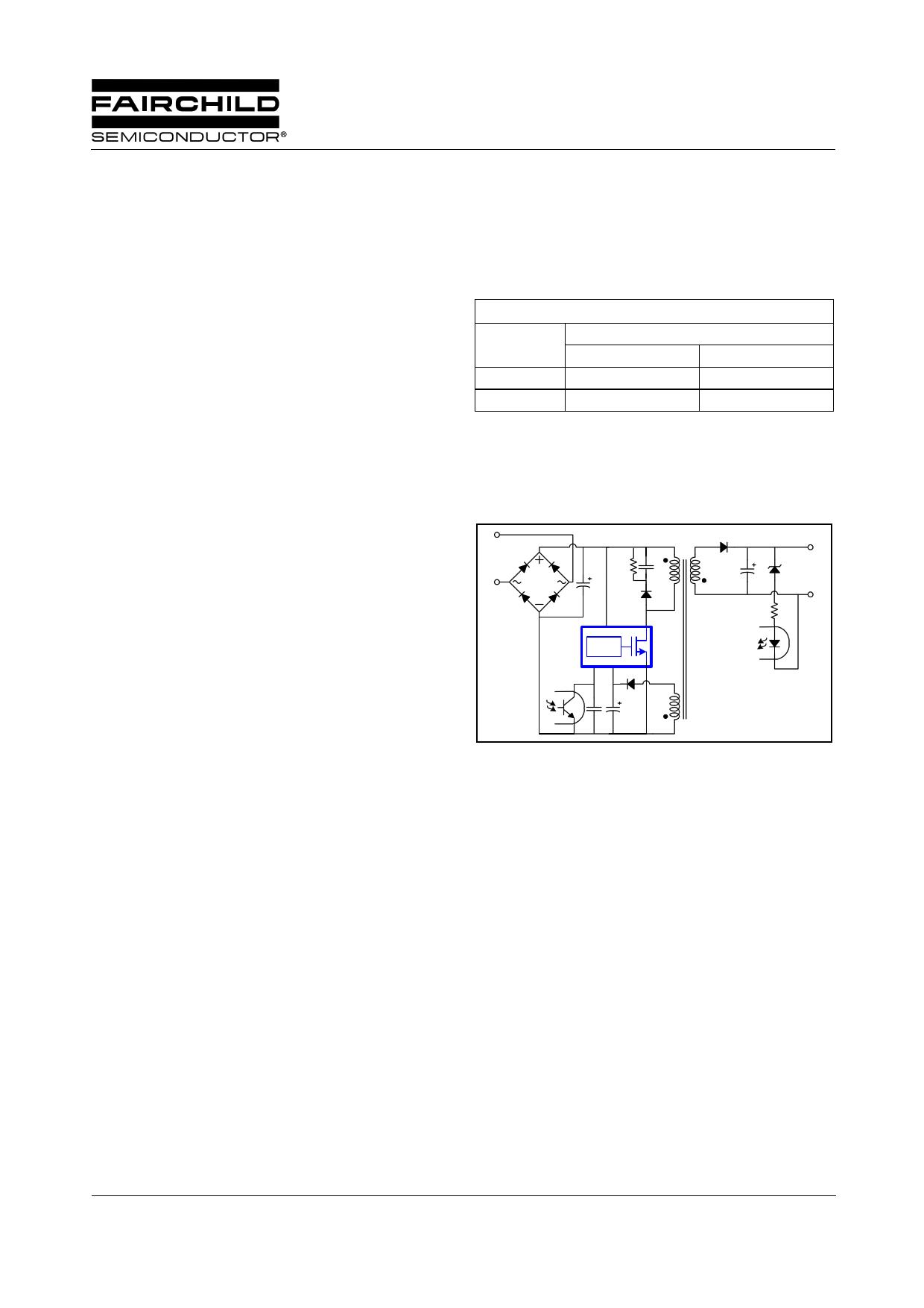 FSDM311L datasheet