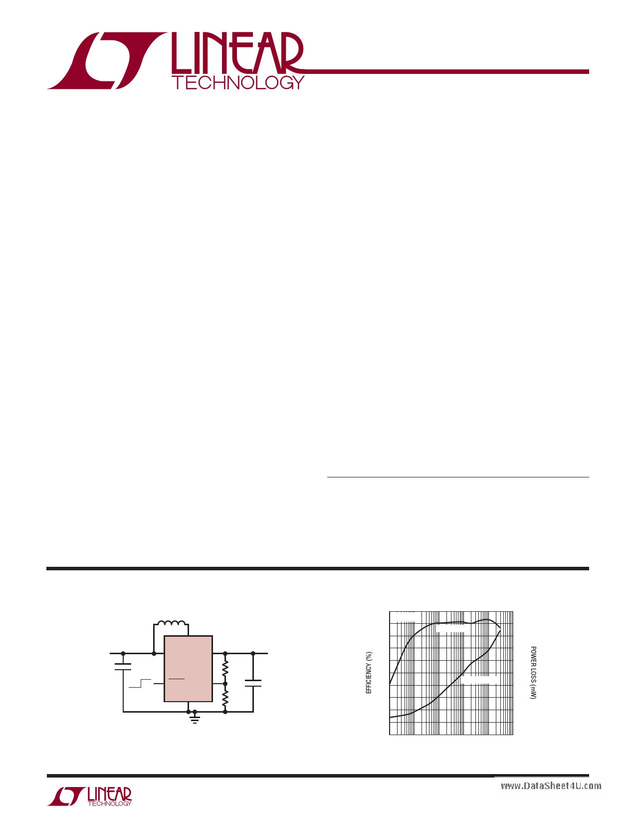 LTC3526B-2 Datasheet, LTC3526B-2 PDF,ピン配置, 機能