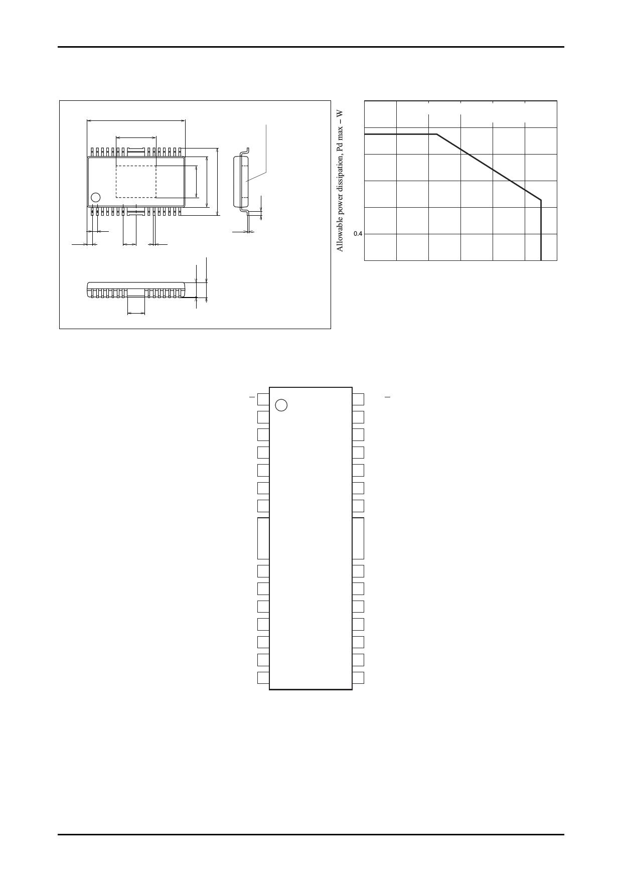 LB1945H pdf, ピン配列