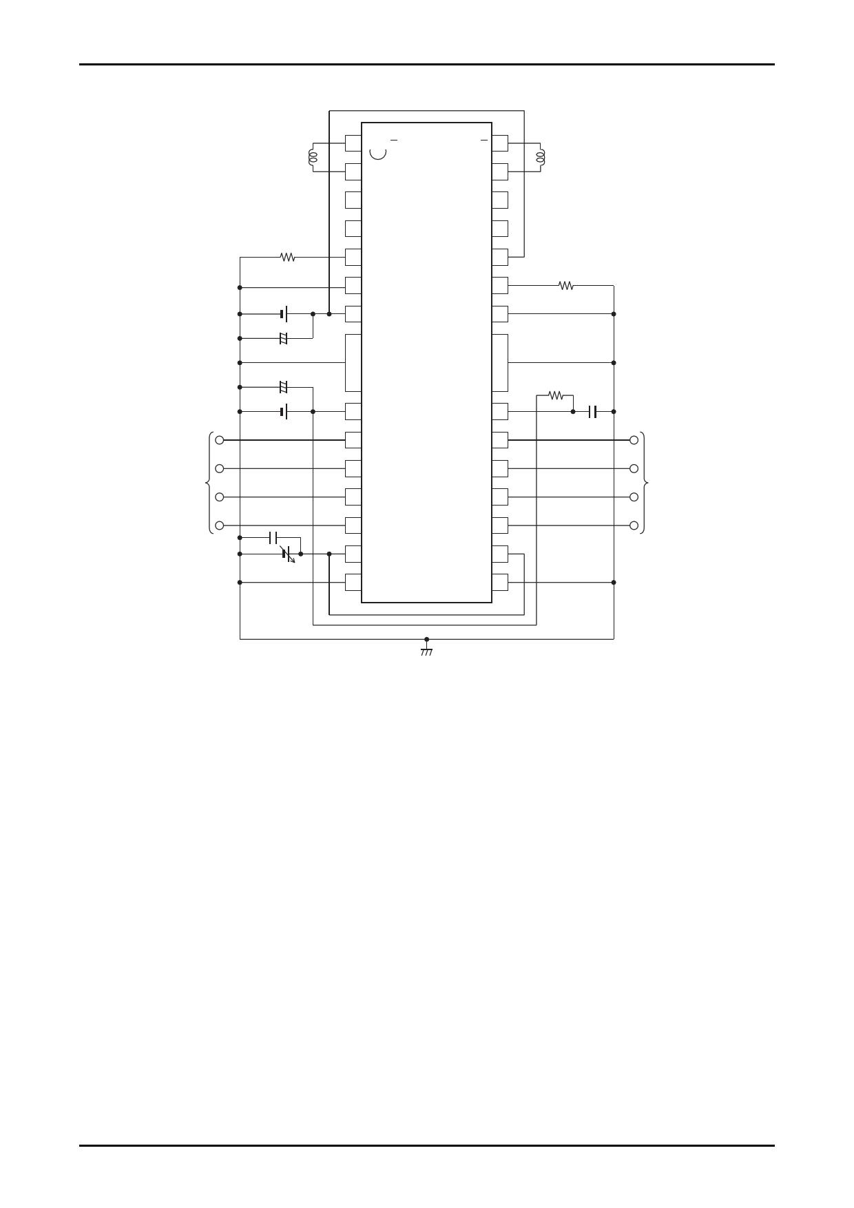 LB1945H 電子部品, 半導体