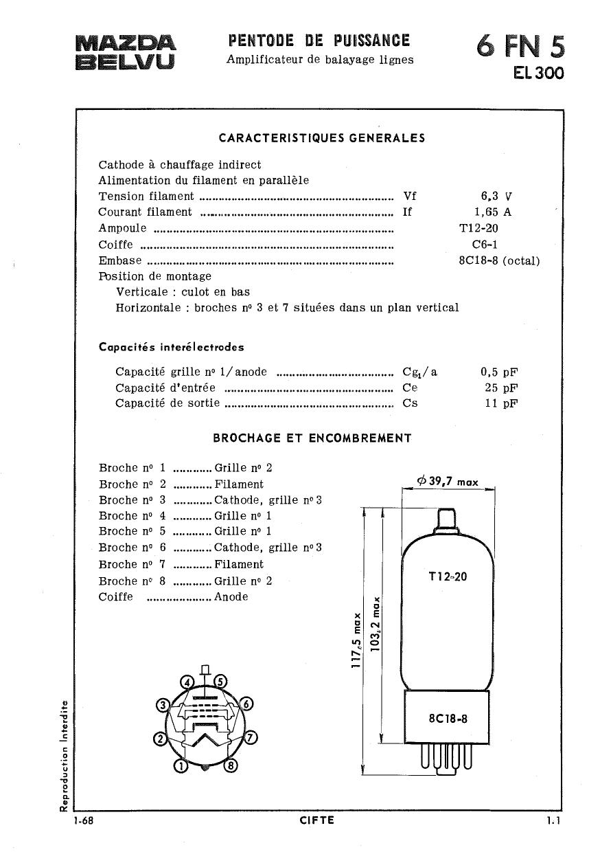 6FN5 Datasheet, 6FN5 PDF,ピン配置, 機能