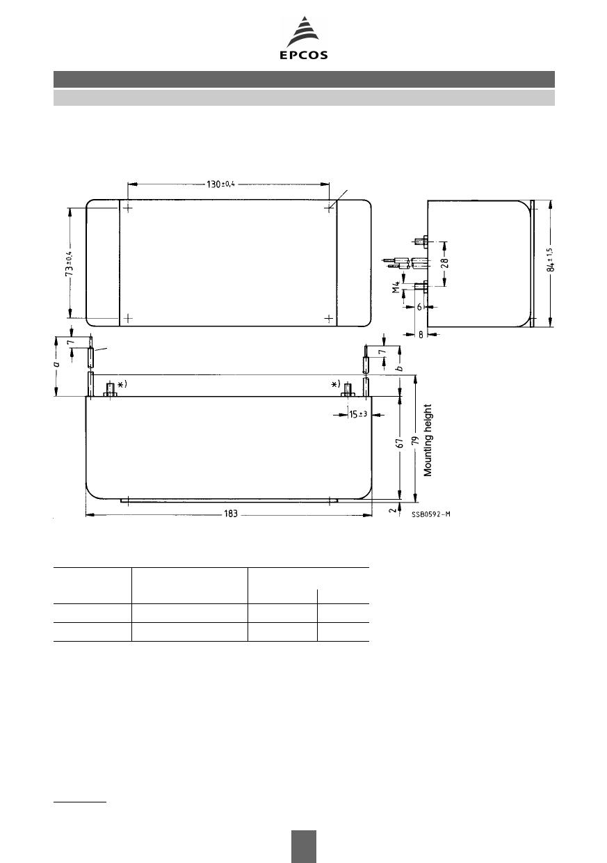 B84299-K65 pdf