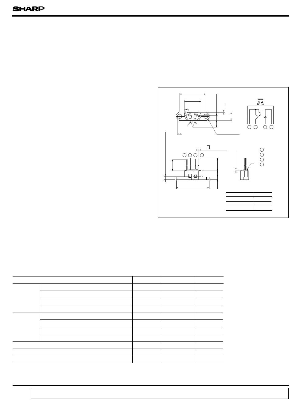 GP2L01 دیتاشیت PDF
