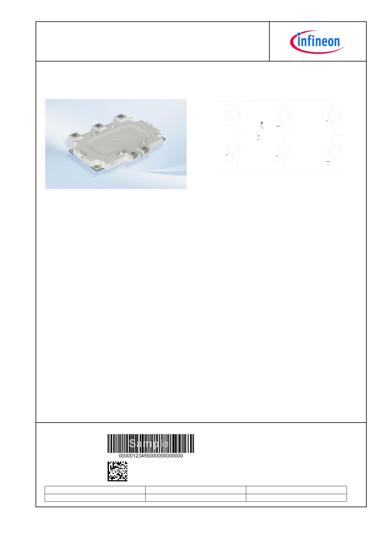 FS400R07A1E3 دیتاشیت PDF