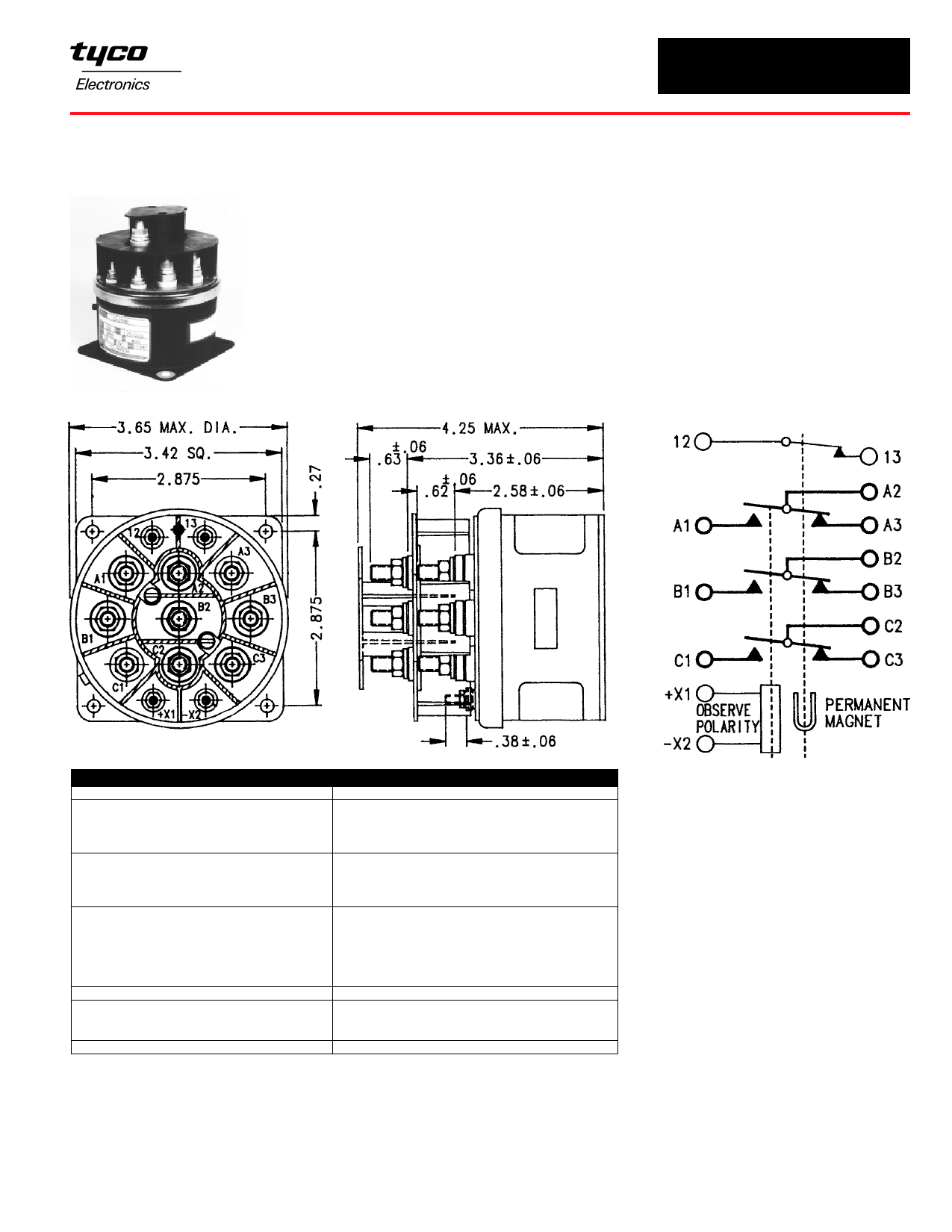 D-25BD Hoja de datos, Descripción, Manual