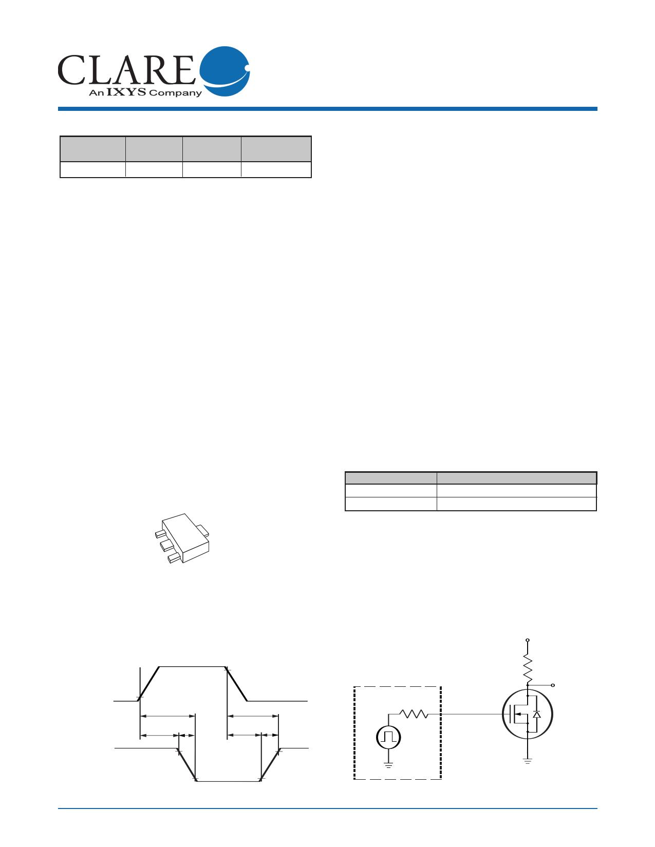 CPC3703C Datasheet, CPC3703C PDF,ピン配置, 機能