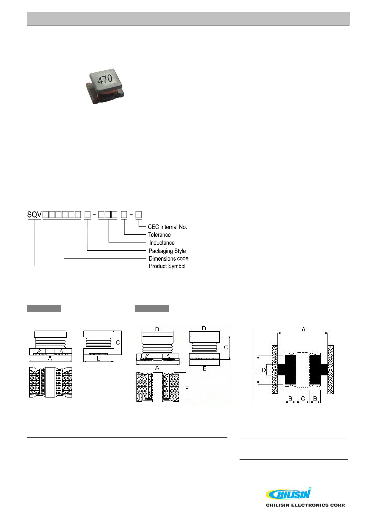 SQV322520 데이터시트 및 SQV322520 PDF