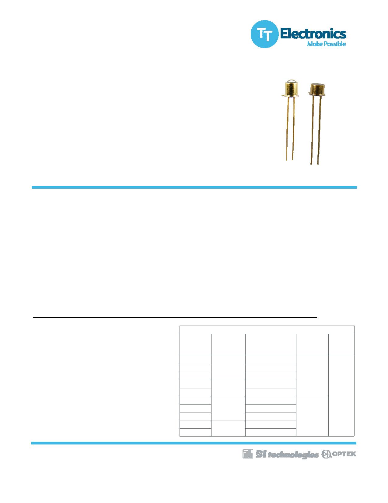 OP231W datasheet, circuit