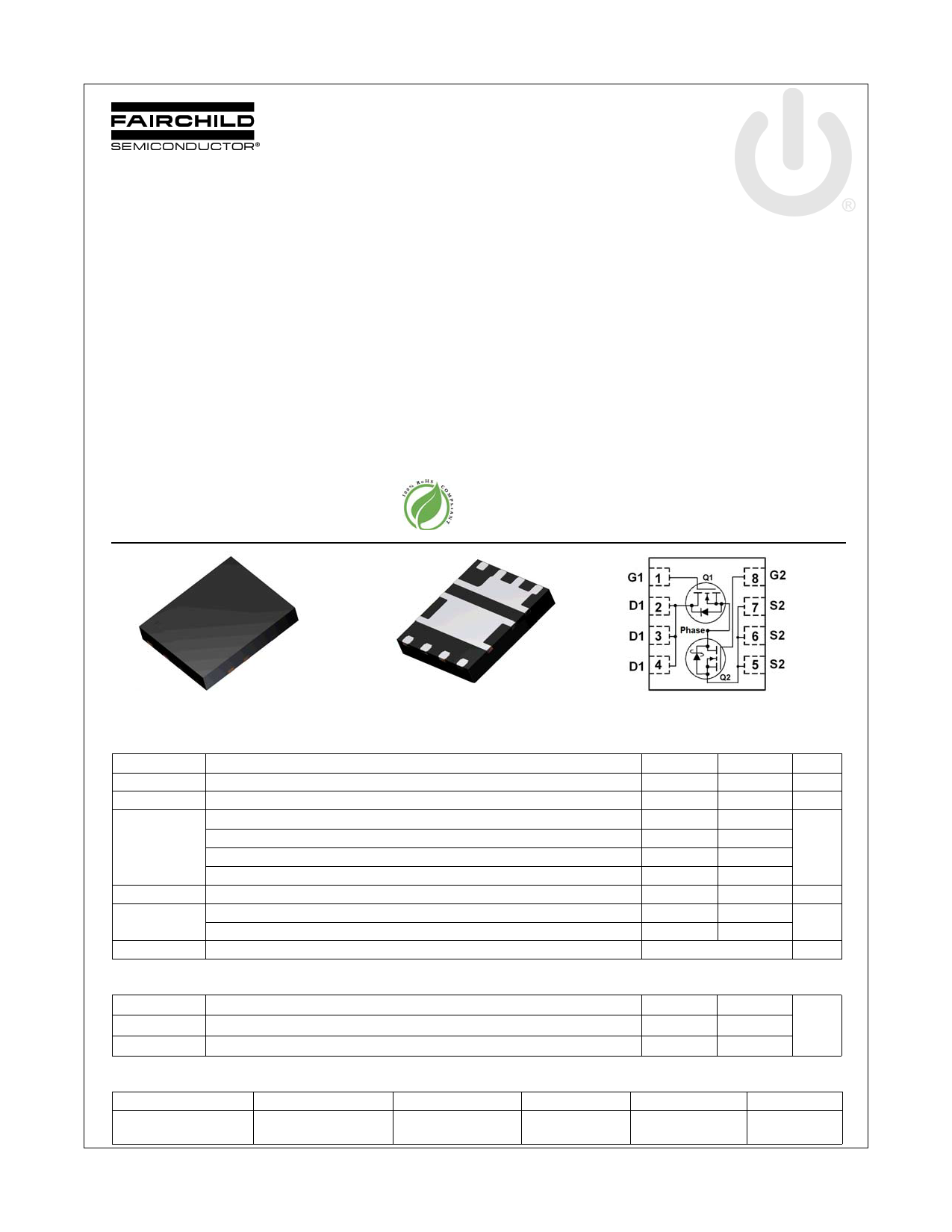 FDMS3686S 데이터시트 및 FDMS3686S PDF