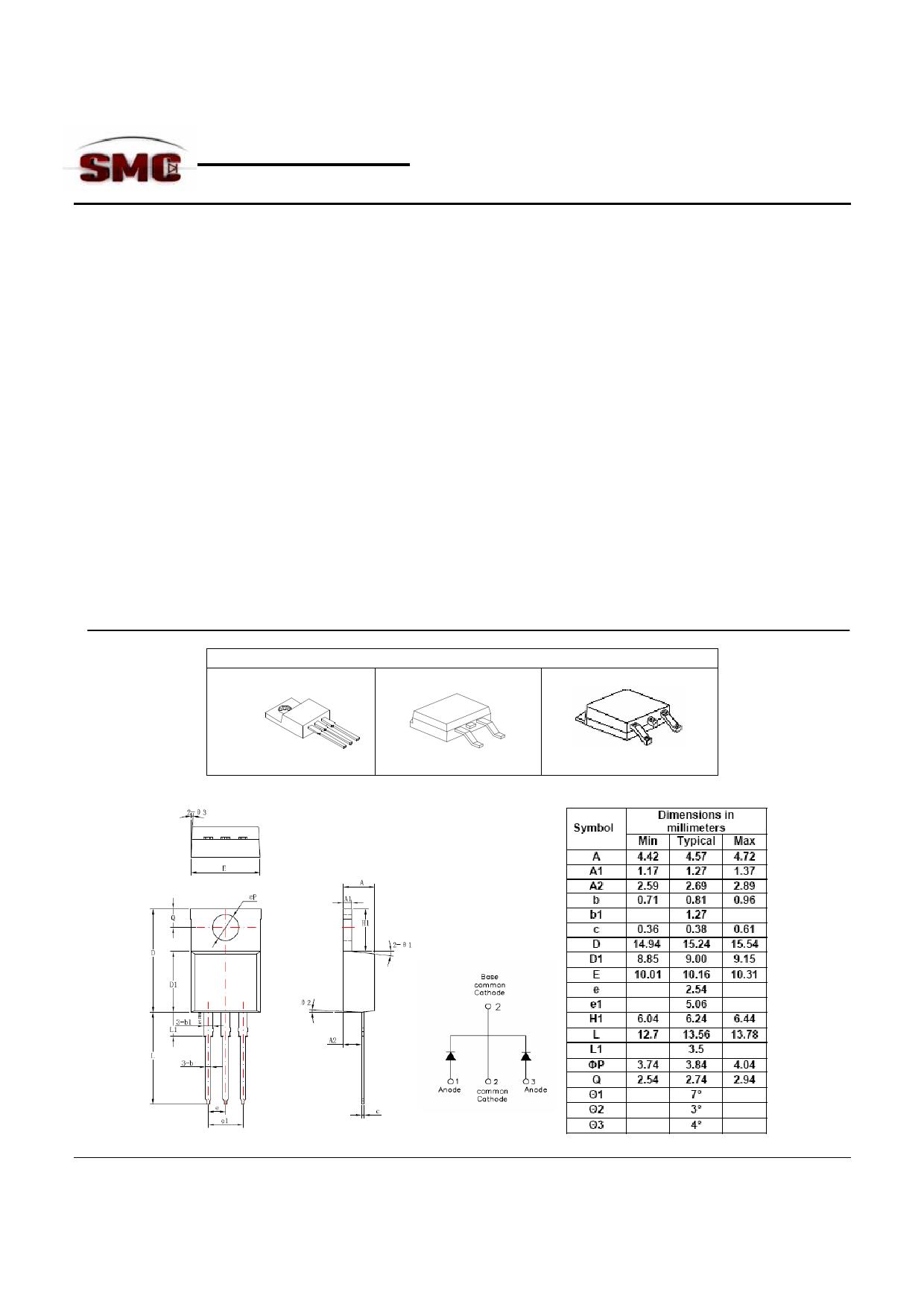 STB10150C datasheet, circuit