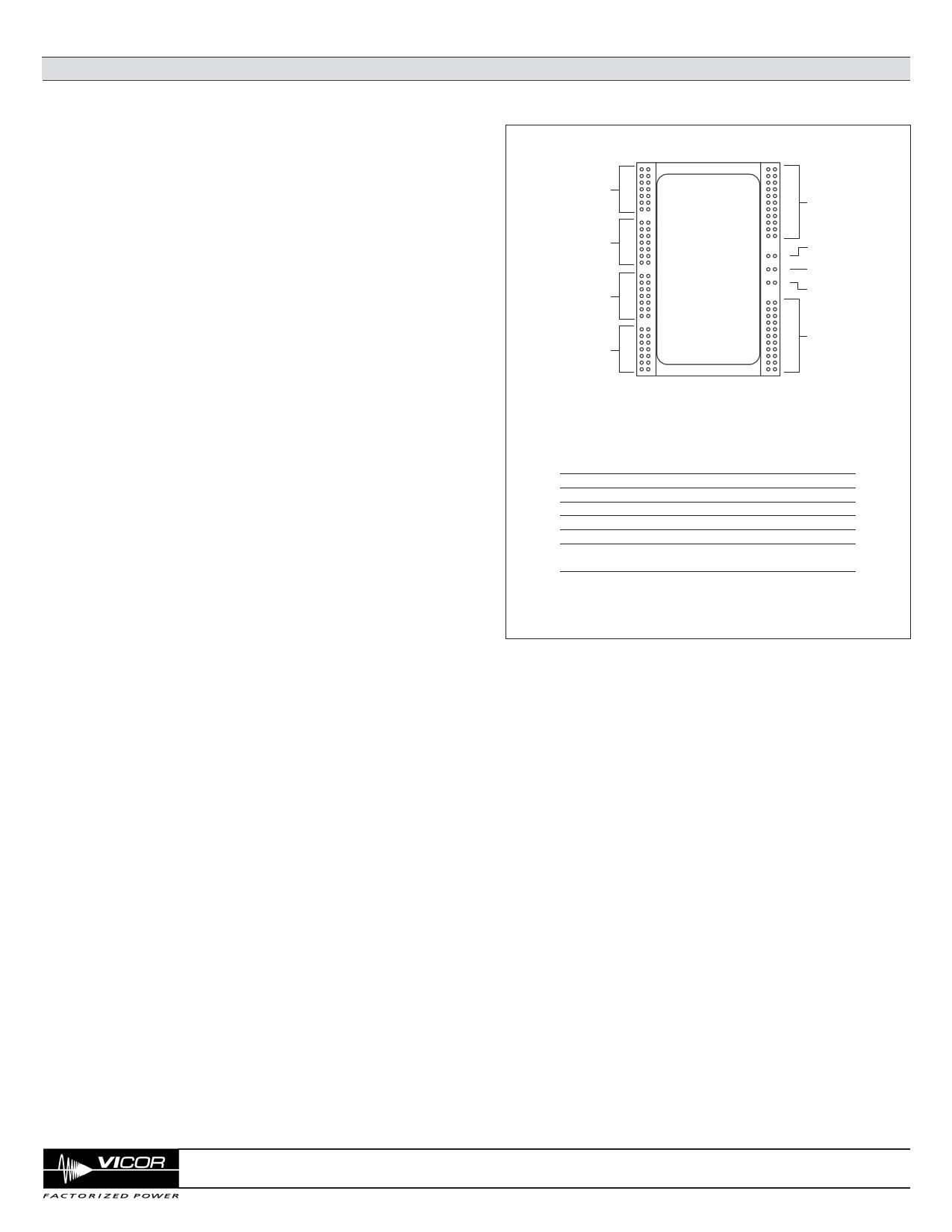 V048K160T015 Datasheet, Funktion