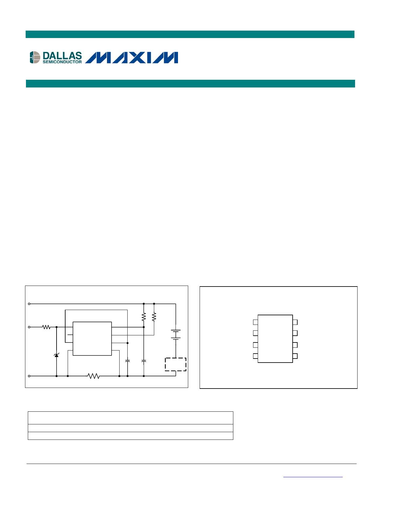 DS2781 دیتاشیت PDF