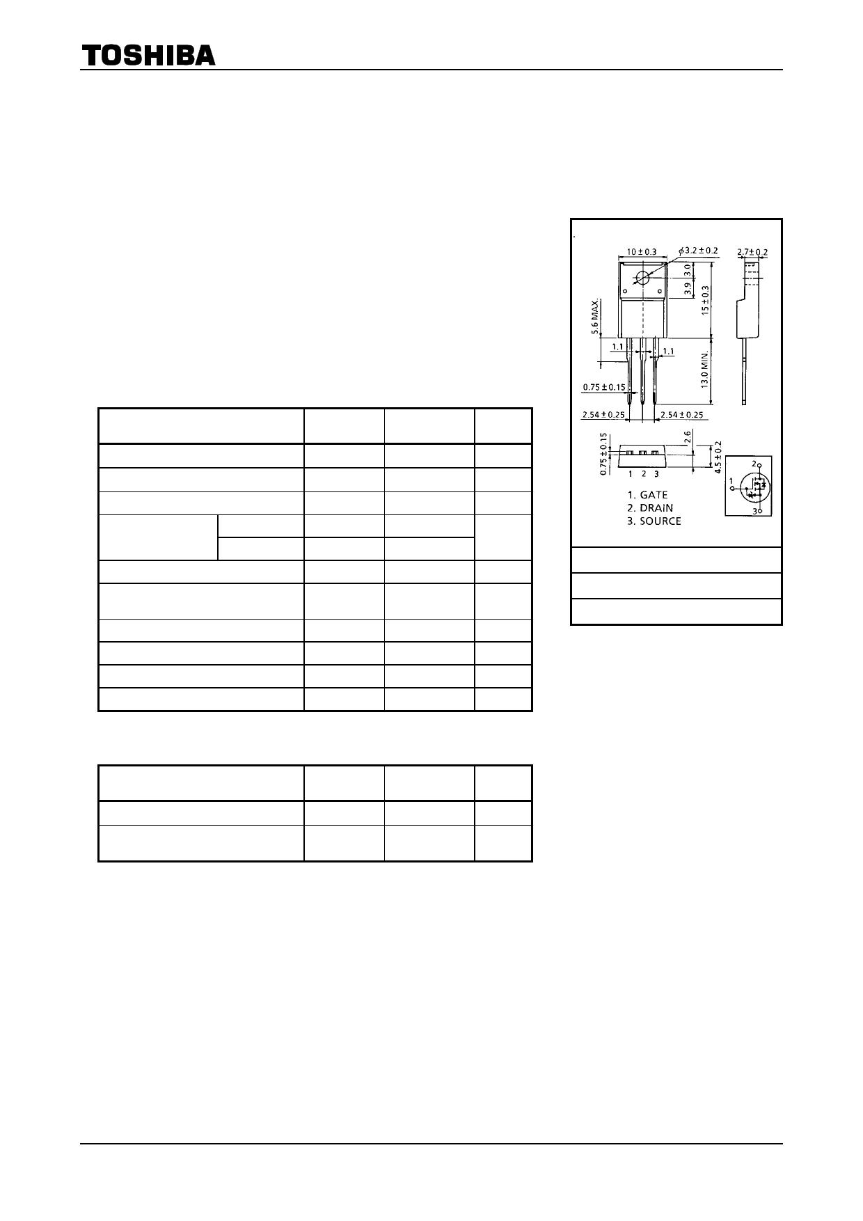 K2507 Datenblatt PDF