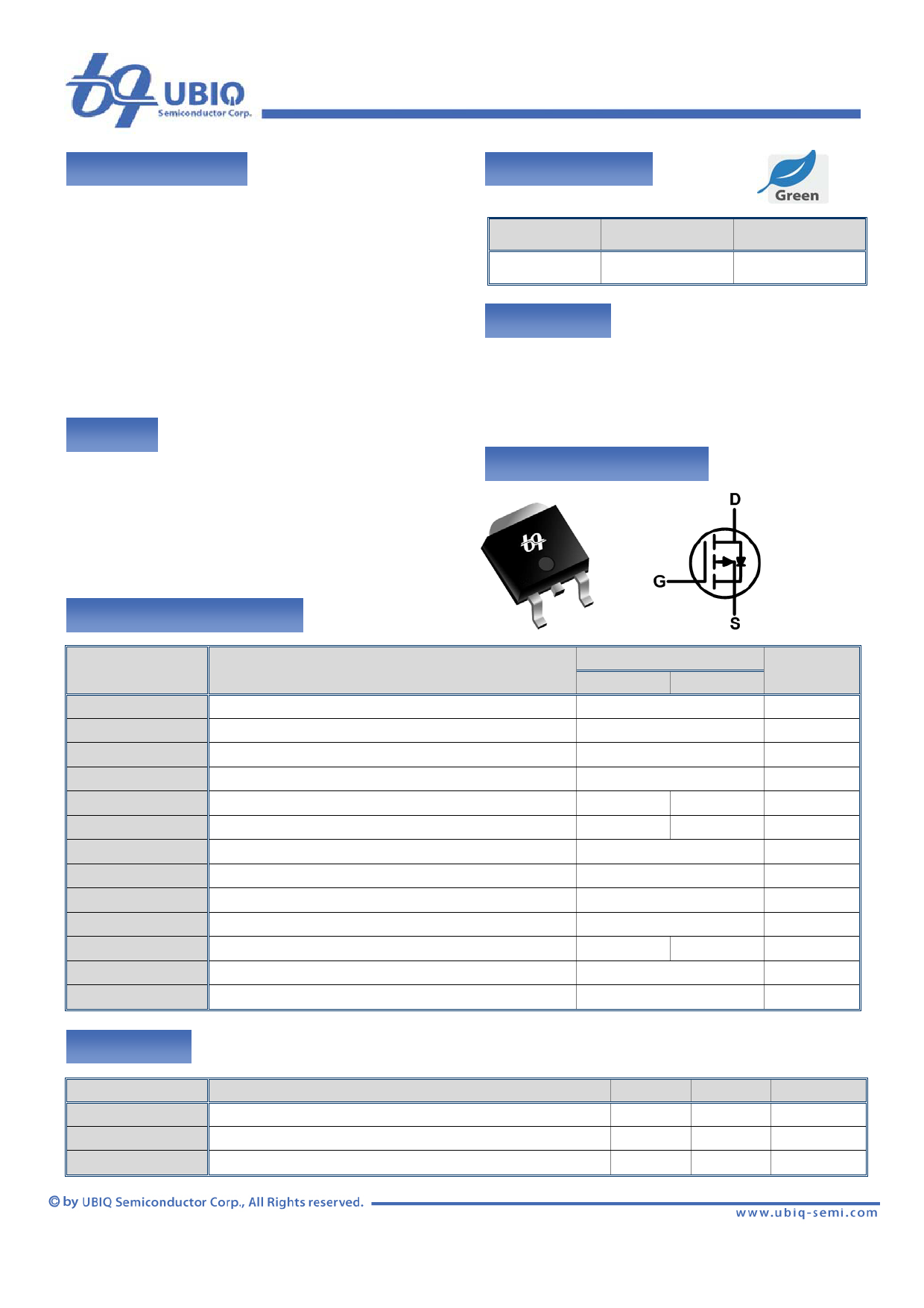 QM3003D Datenblatt PDF